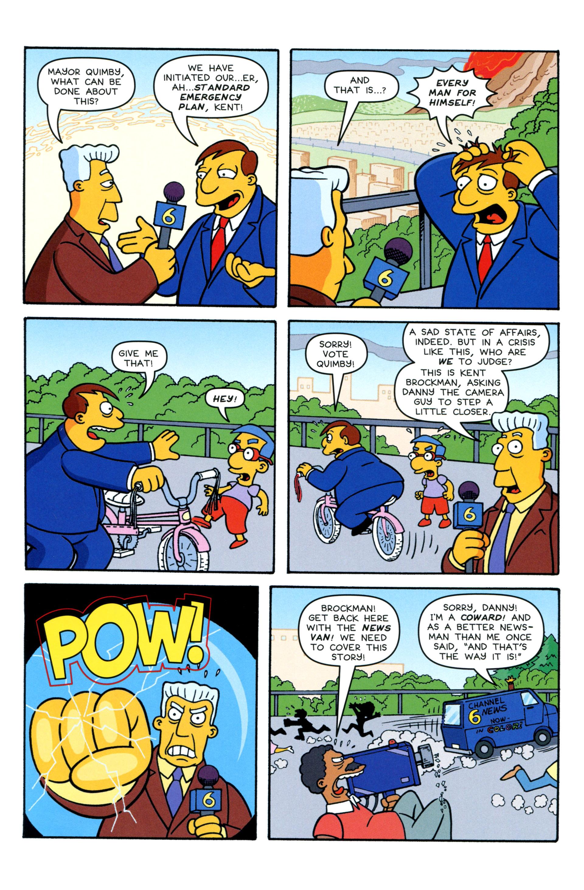 Read online Simpsons Comics comic -  Issue #206 - 9