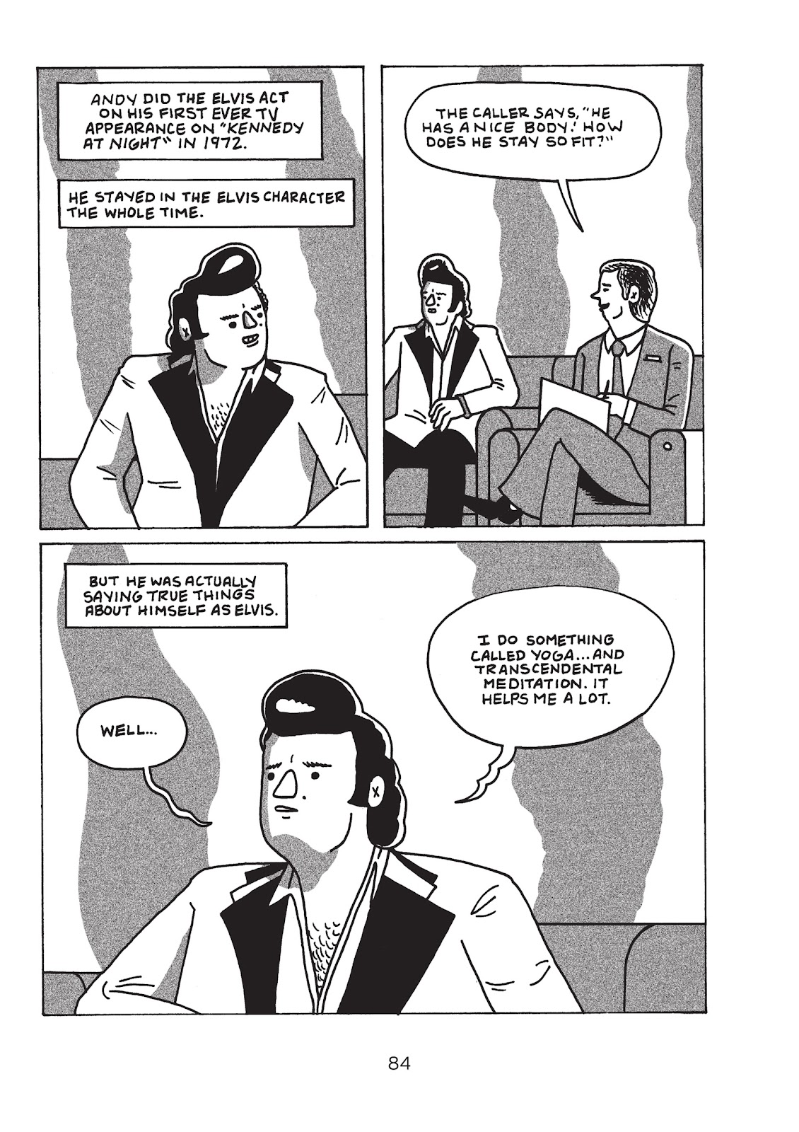 Read online Is This Guy For Real?: The Unbelievable Andy Kaufman comic -  Issue # TPB (Part 1) - 89