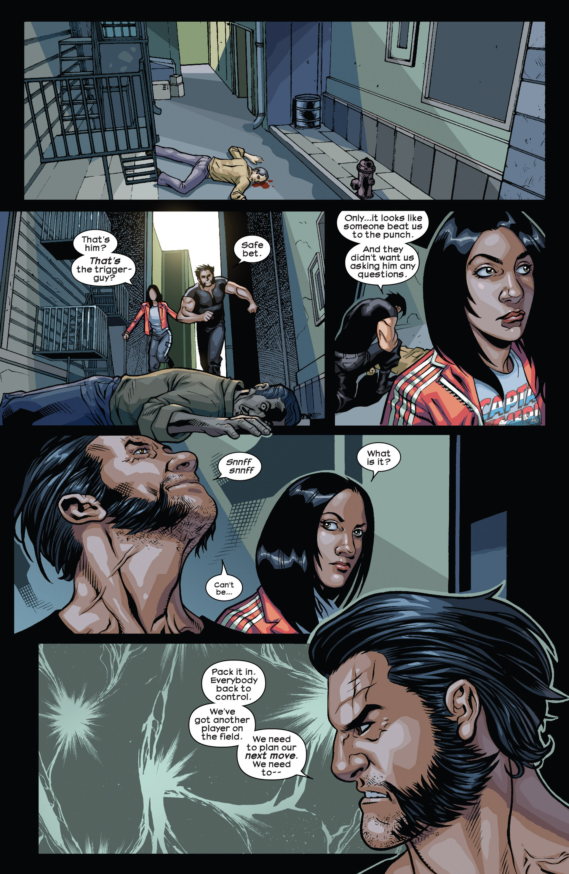 Read online Ultimate Comics Wolverine comic -  Issue #1 - 11