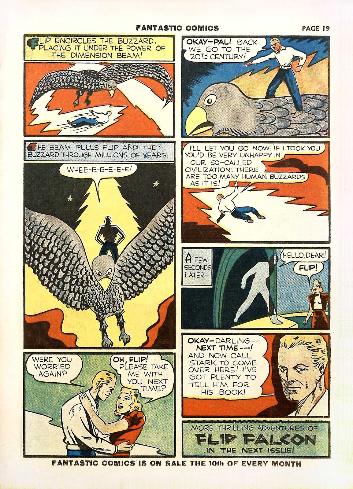 Read online Fantastic Comics comic -  Issue #11 - 22