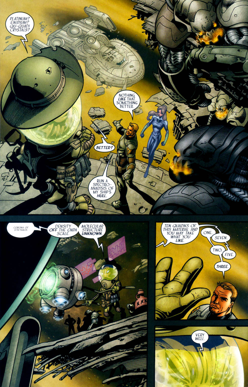 Read online Sigil (2000) comic -  Issue #33 - 18