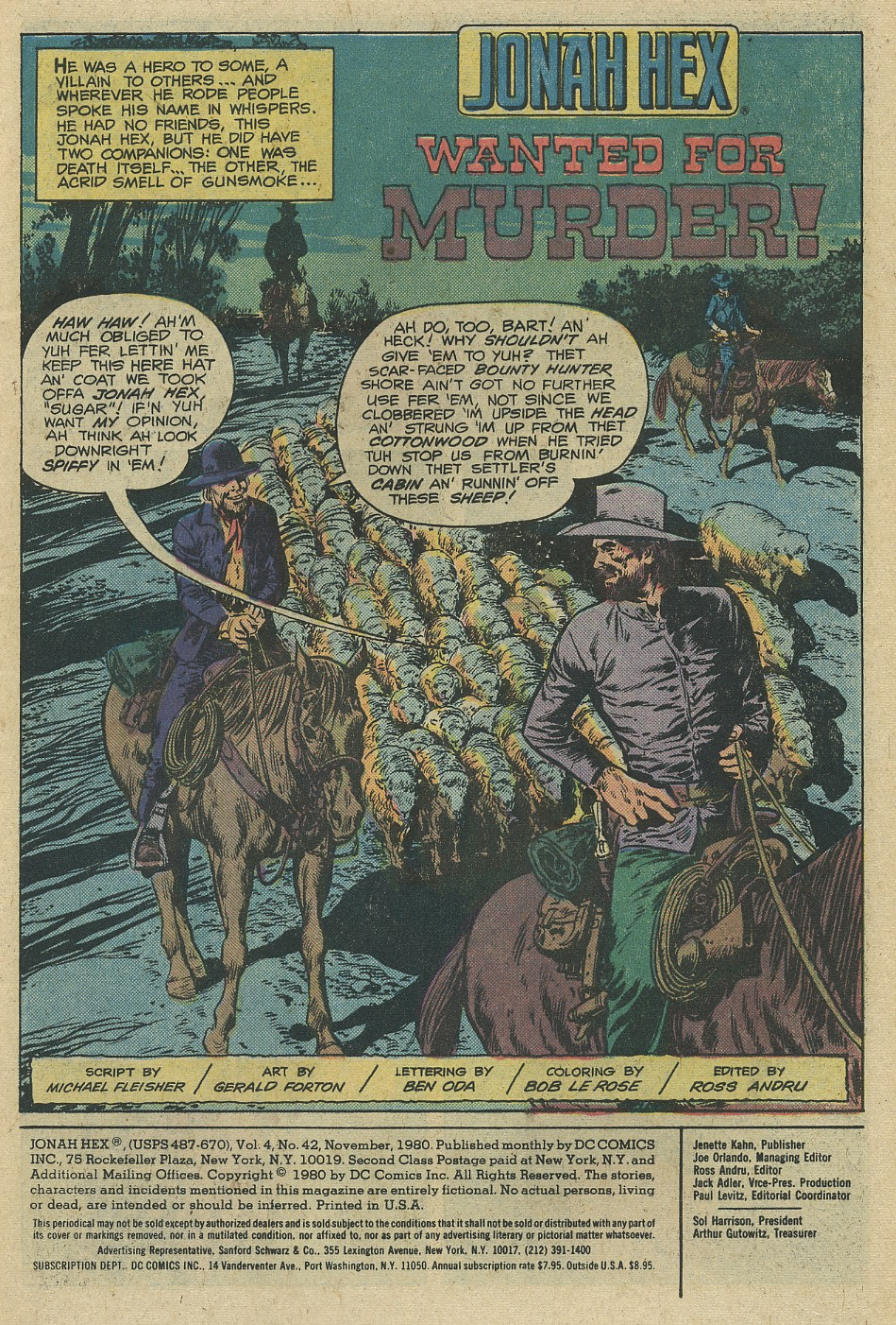 Jonah Hex (1977) 42 Page 2