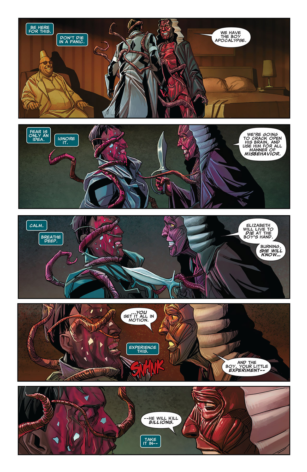 Read online Uncanny X-Force (2010) comic -  Issue #27 - 15