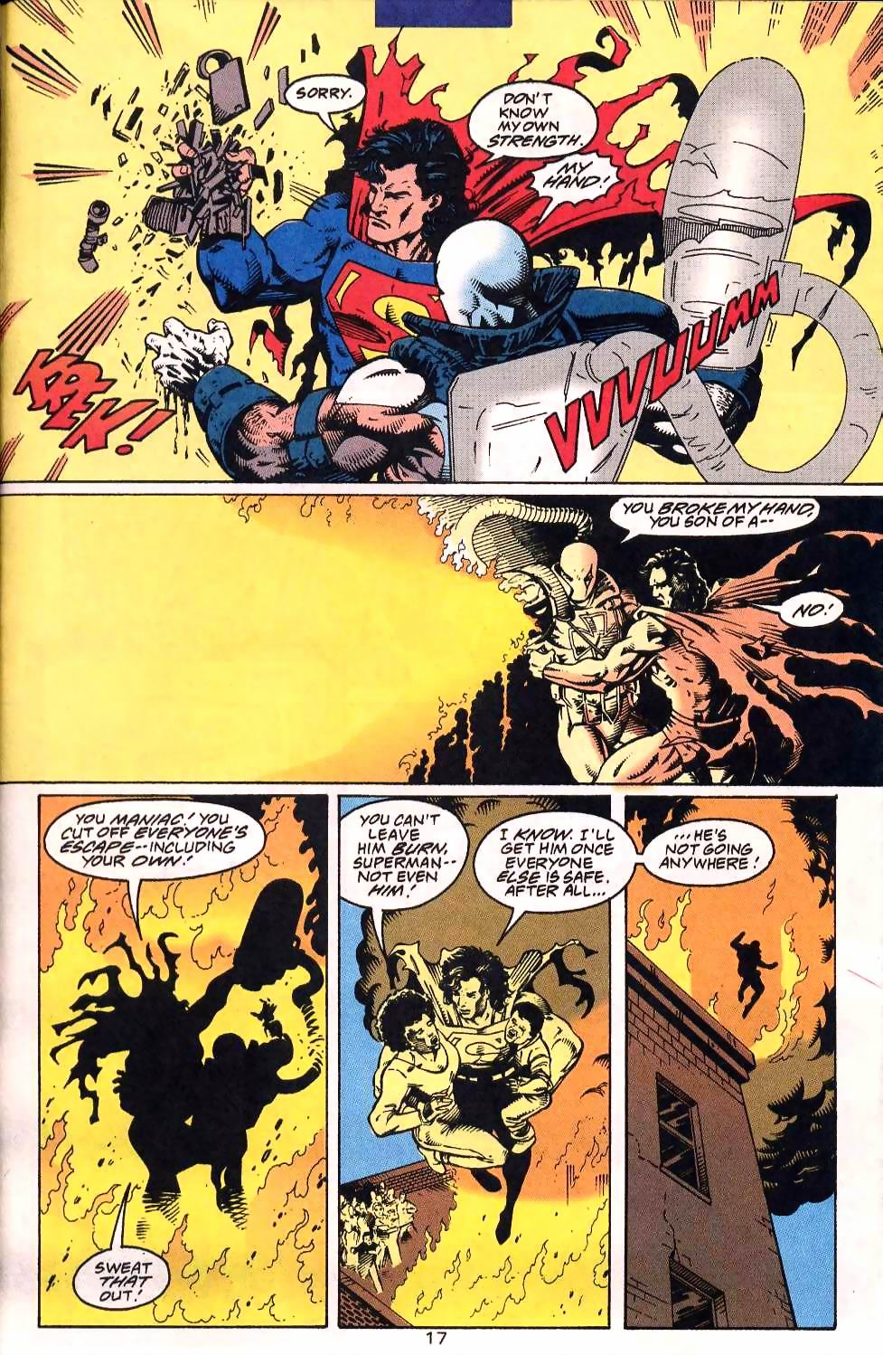 Read online Adventures of Superman (1987) comic -  Issue #507 - 18