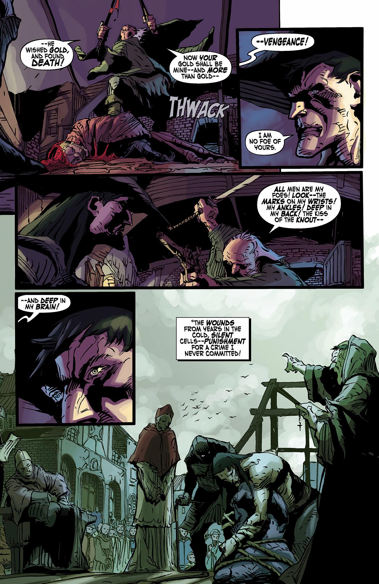 Read online Solomon Kane: Death's Black Riders comic -  Issue #2 - 19