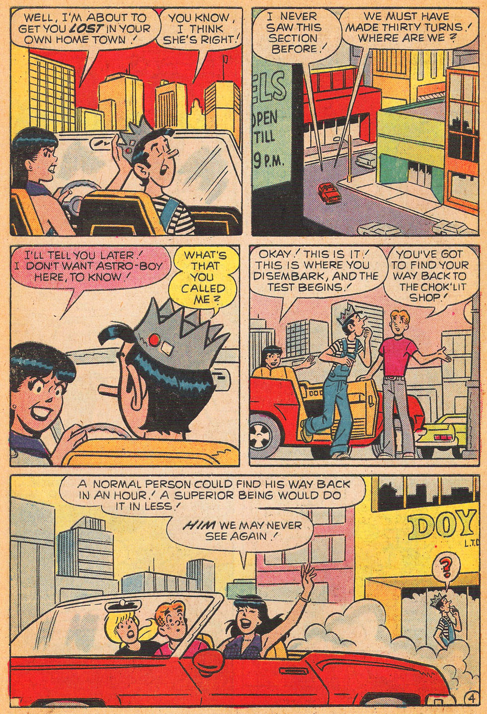 Read online Archie's Girls Betty and Veronica comic -  Issue #240 - 6