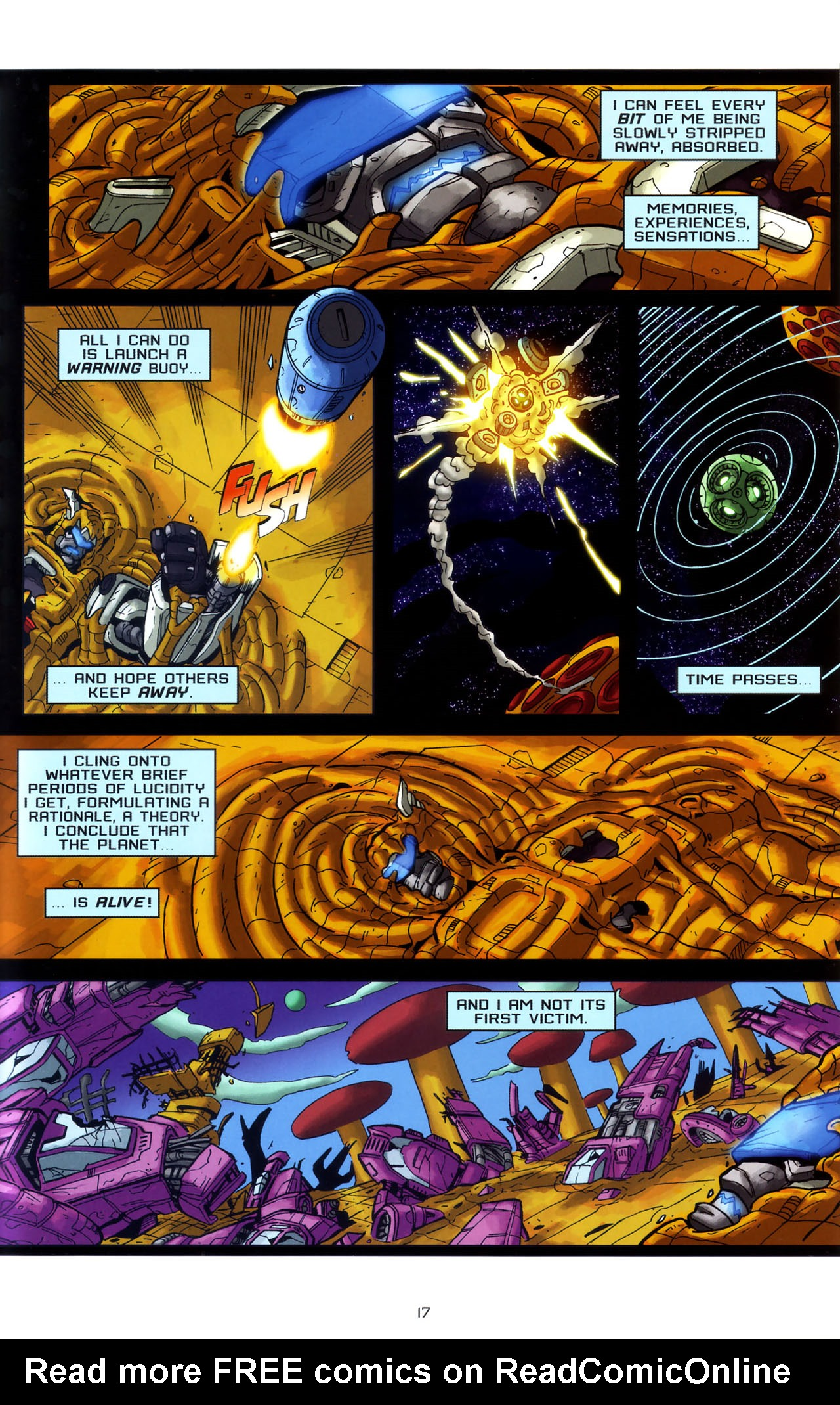 Read online Transformers: Saga of the Allspark comic -  Issue #3 - 20