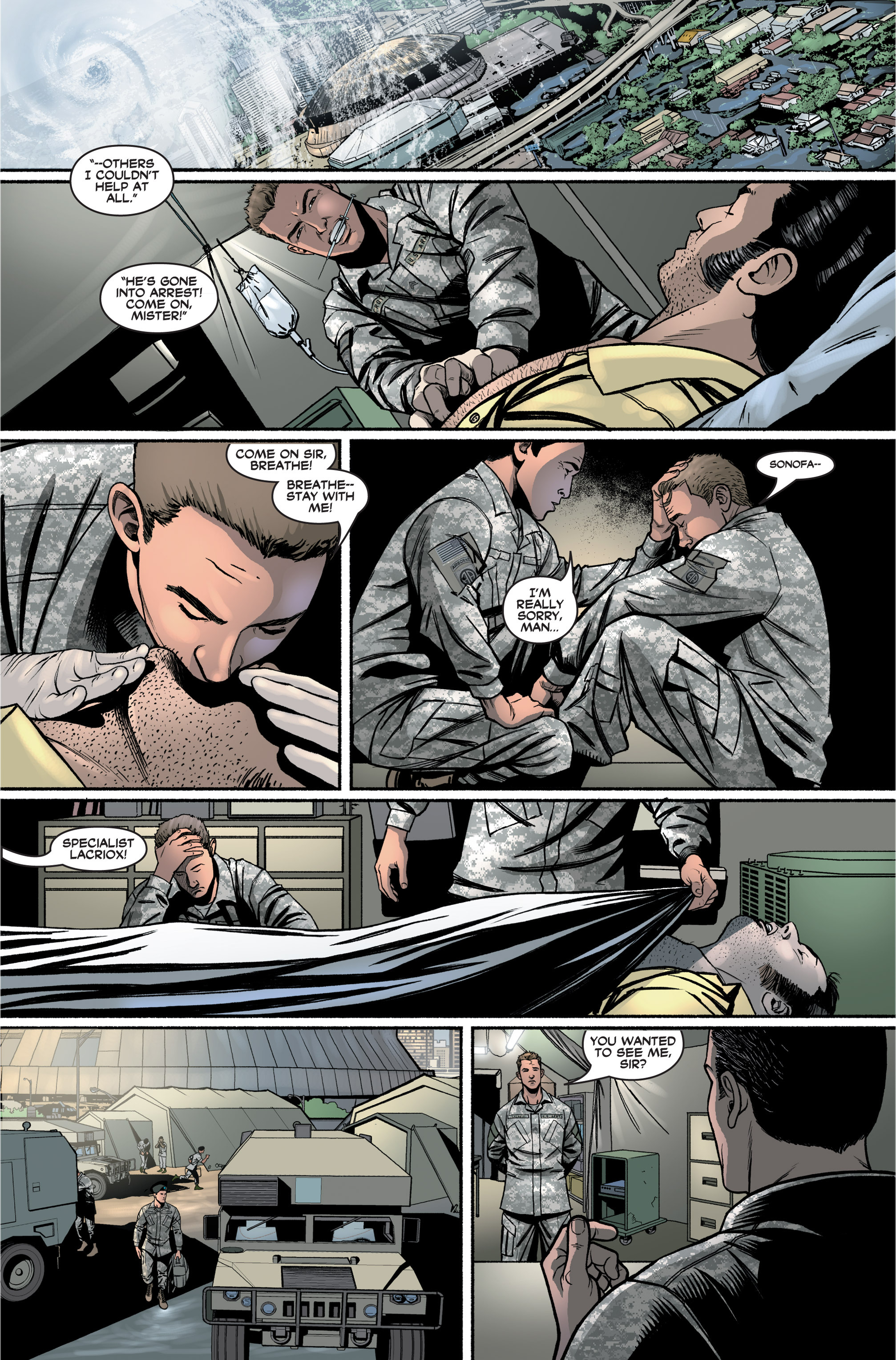 Read online America's Army comic -  Issue #2 - 17