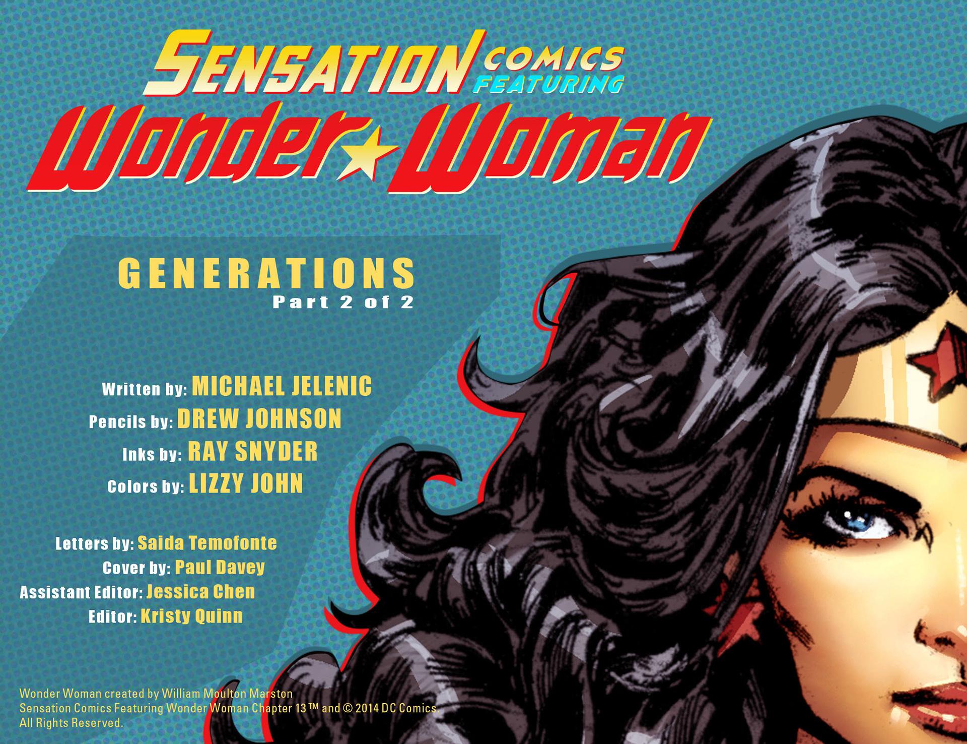 Read online Sensation Comics Featuring Wonder Woman comic -  Issue #13 - 2