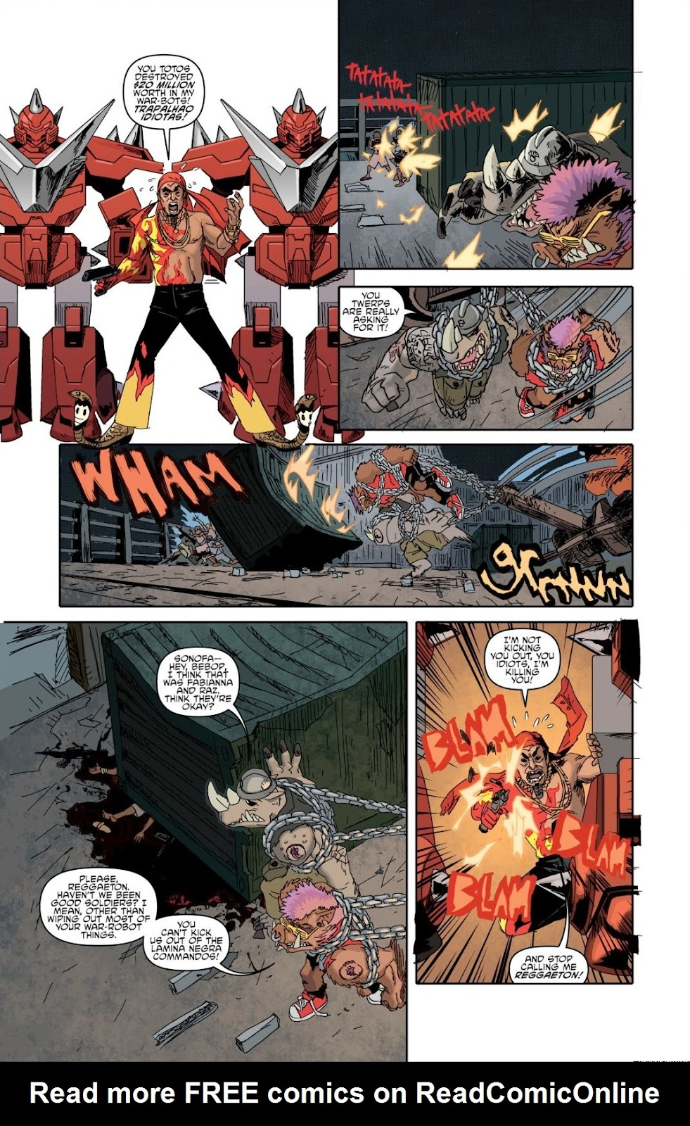 Read online Teenage Mutant Ninja Turtles: The IDW Collection comic -  Issue # TPB 8 (Part 1) - 13