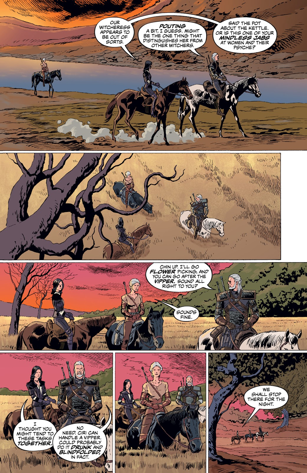Read online The Witcher Omnibus comic -  Issue # TPB (Part 4) - 58
