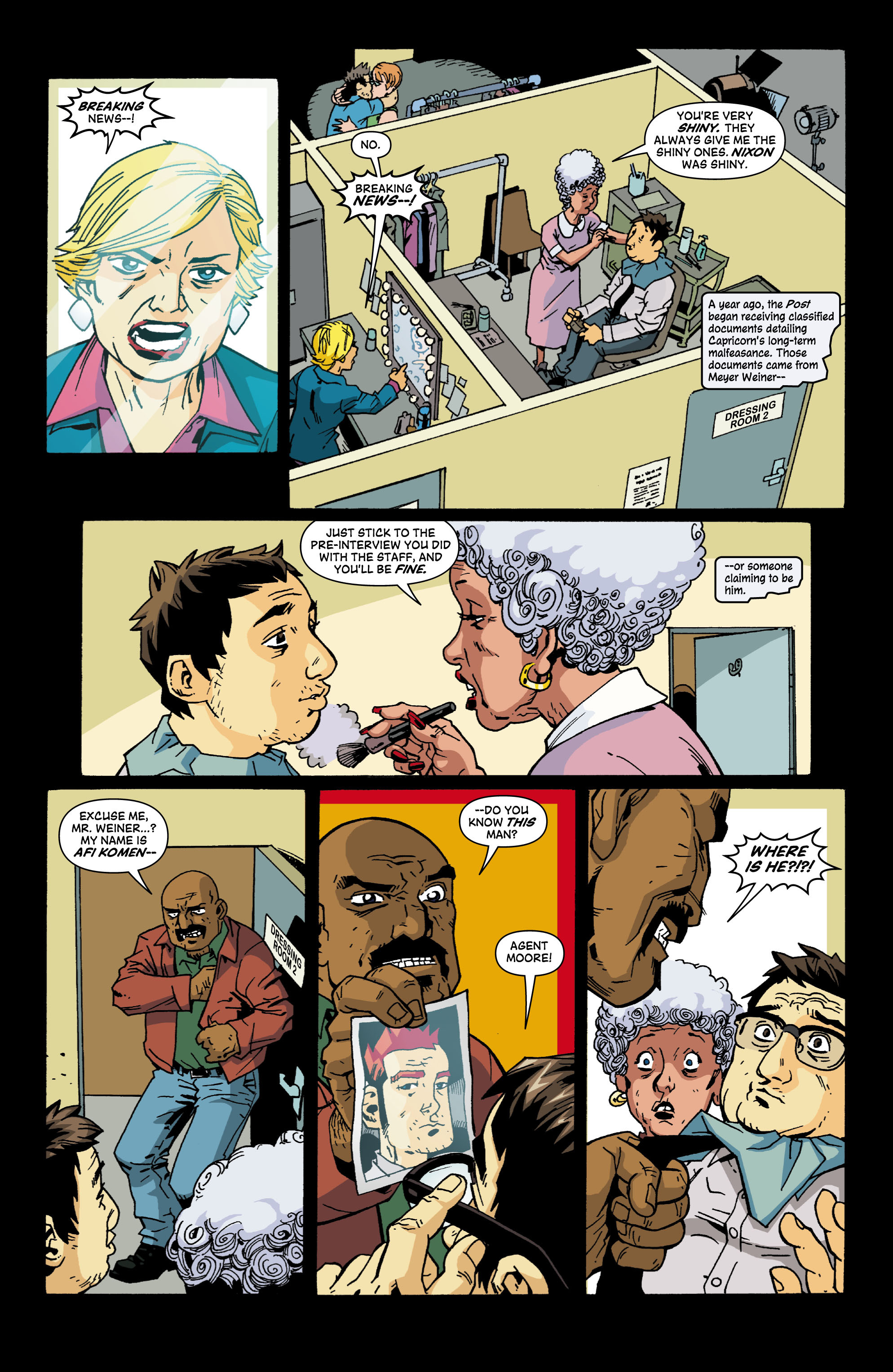 Read online Red Herring comic -  Issue #6 - 17