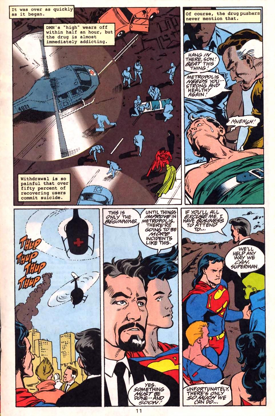 Read online Adventures of Superman (1987) comic -  Issue #522 - 13
