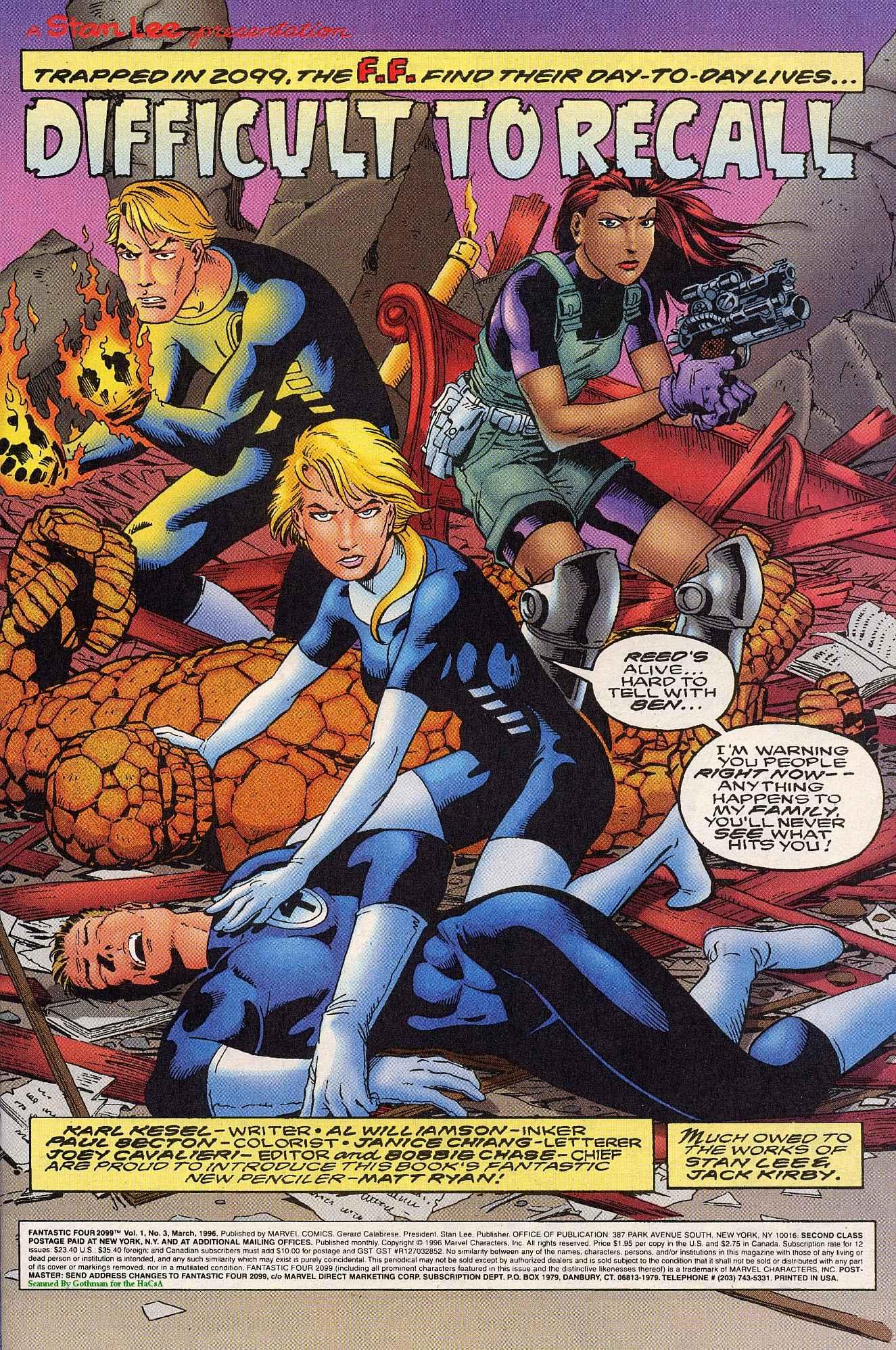 Fantastic Four 2099 3 Page 2