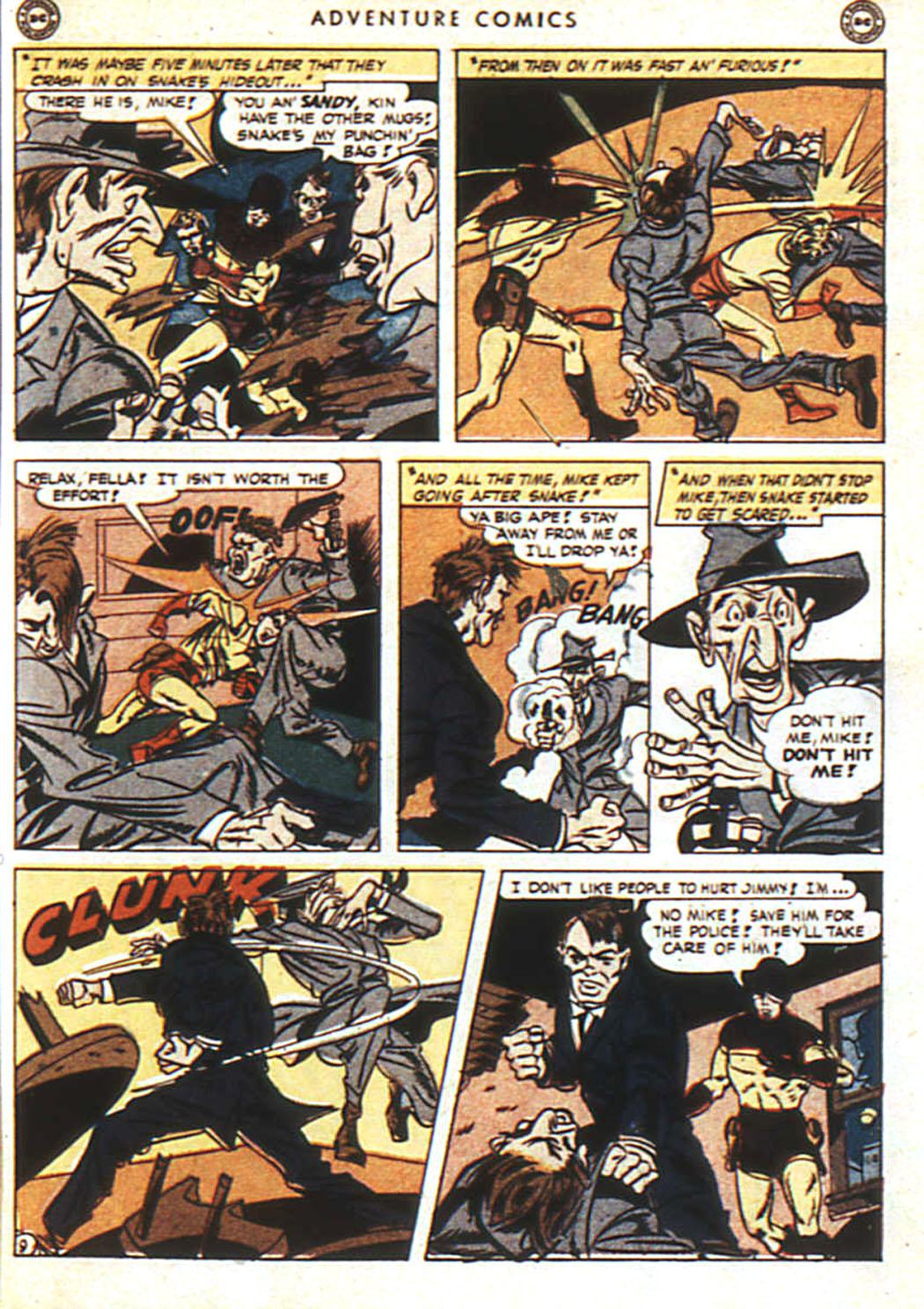 Read online Adventure Comics (1938) comic -  Issue #92 - 10