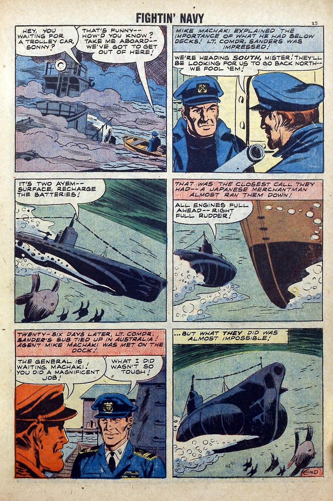 Read online Fightin' Navy comic -  Issue #84 - 27
