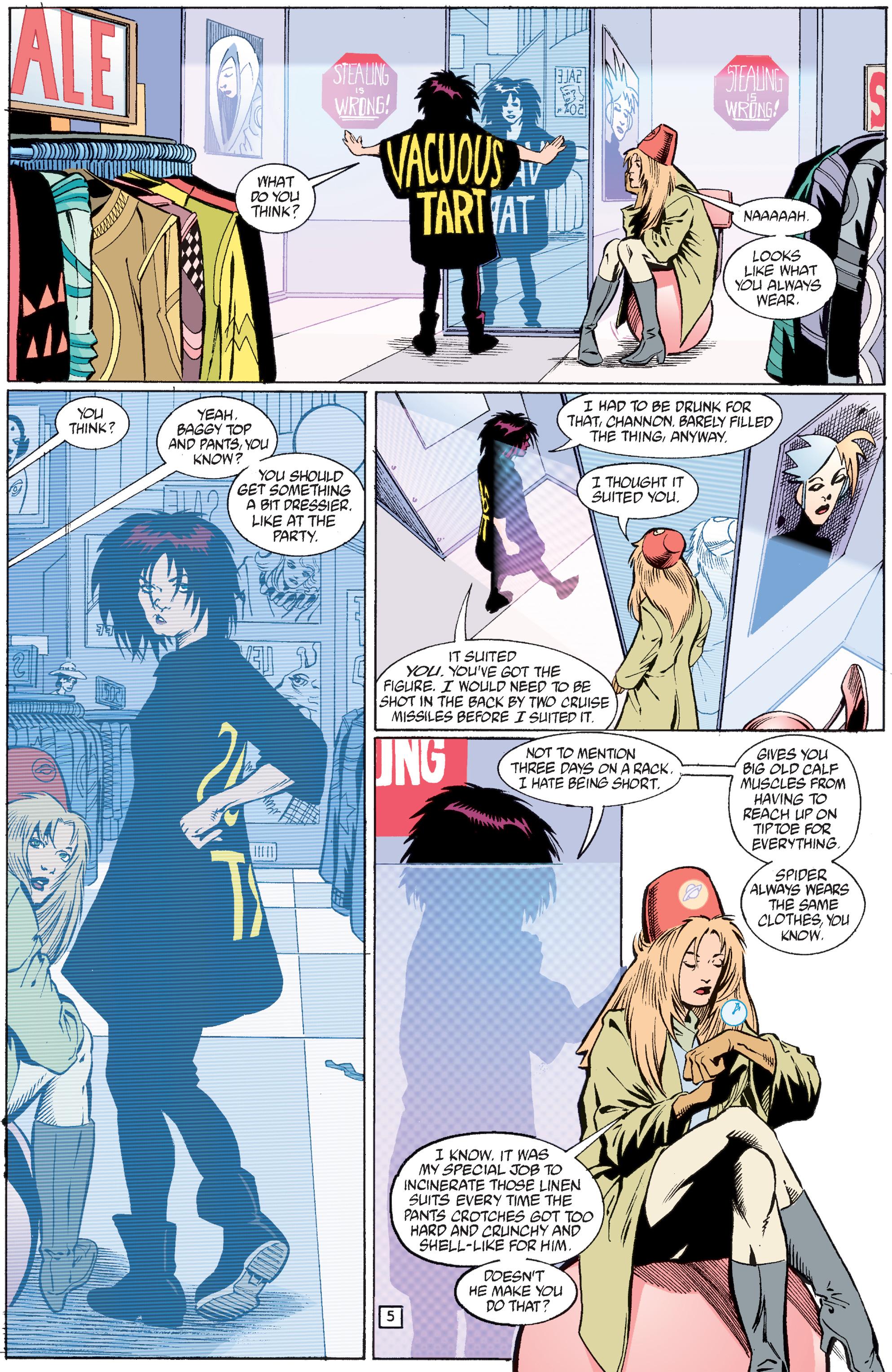 Read online Transmetropolitan comic -  Issue #33 - 6