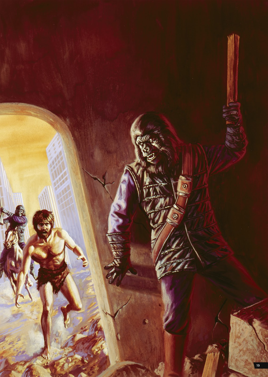 Read online Planet of the Apes Artist Tribute comic -  Issue # TPB - 19