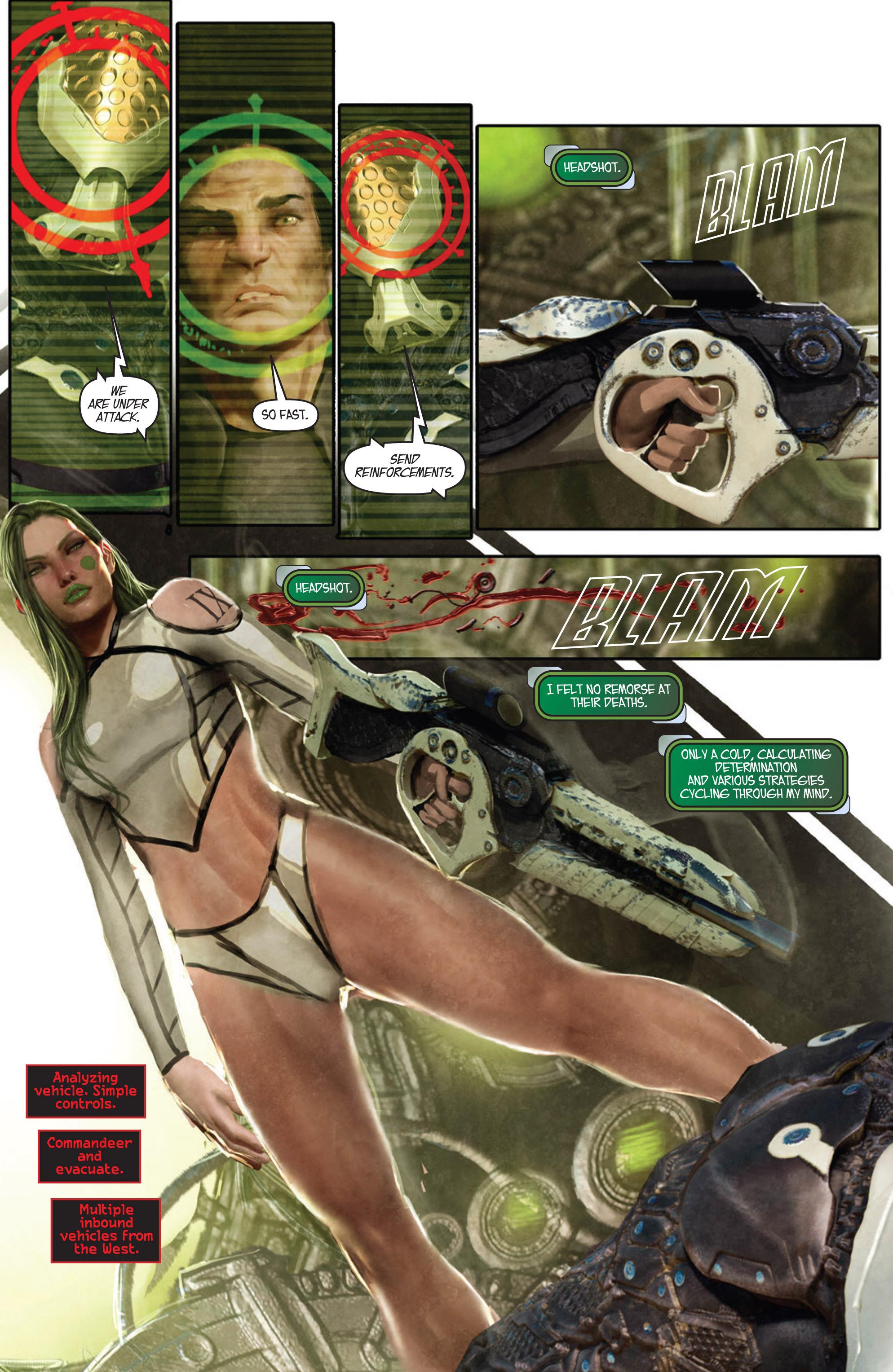 Read online Aphrodite IX (2013) comic -  Issue #Aphrodite IX (2013) _TPB 1 - 18