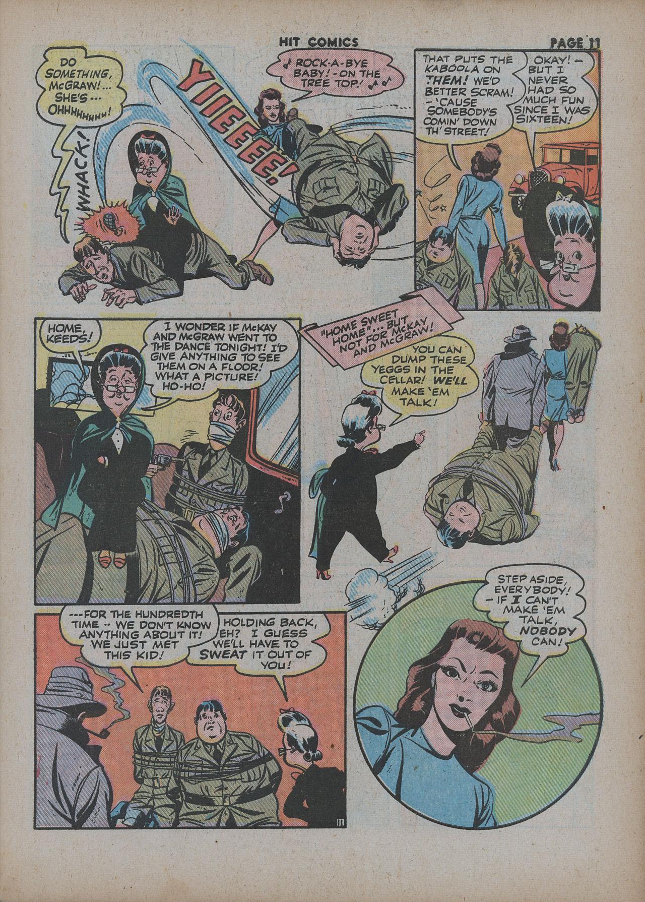 Read online Hit Comics comic -  Issue #27 - 13