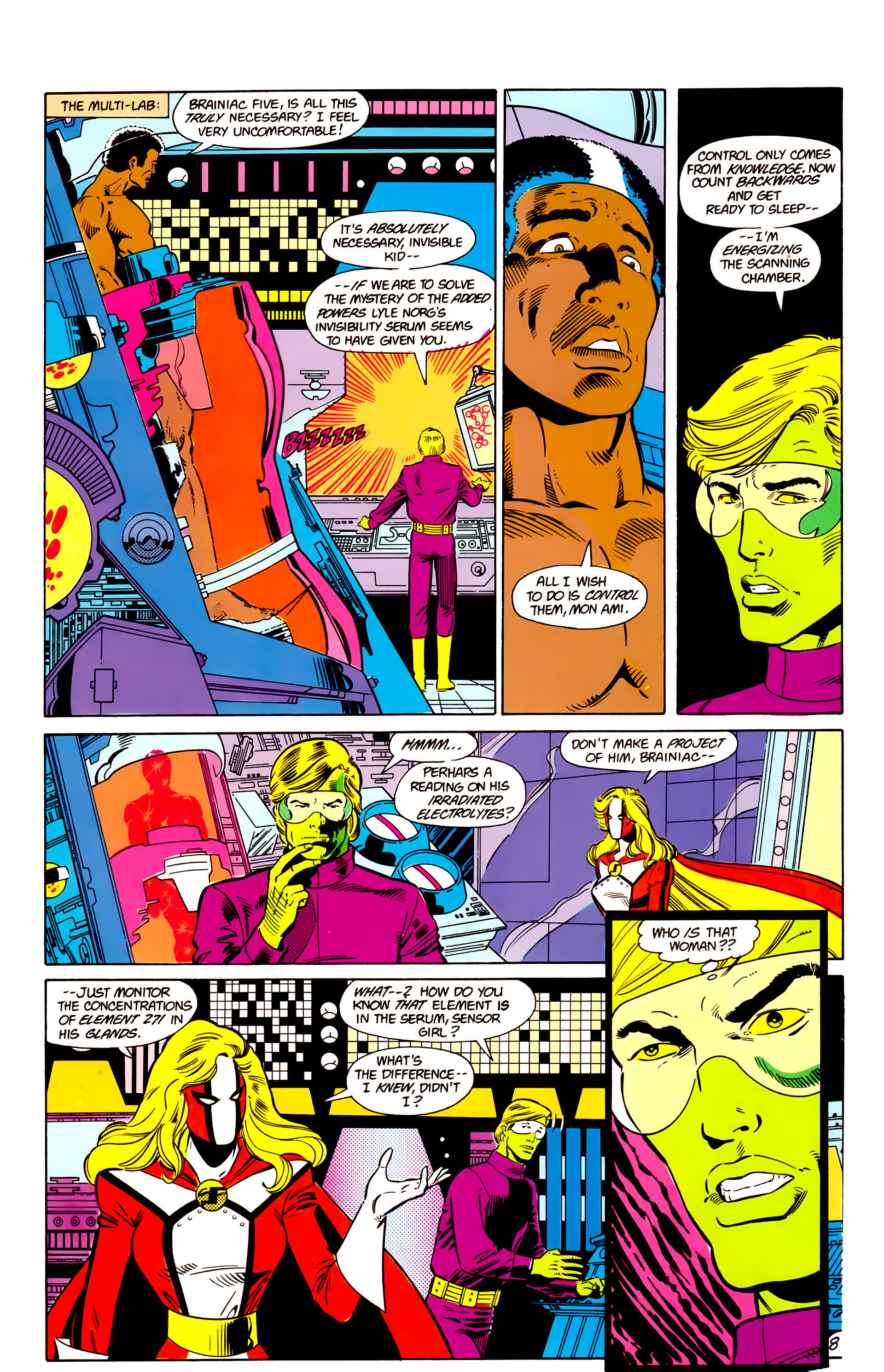 Legion of Super-Heroes (1984) 17 Page 9