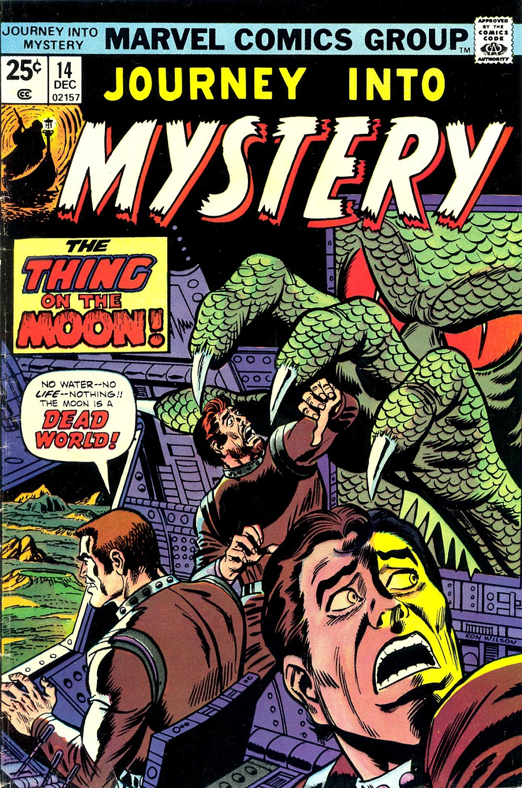 Journey Into Mystery (1972) issue 14 - Page 1