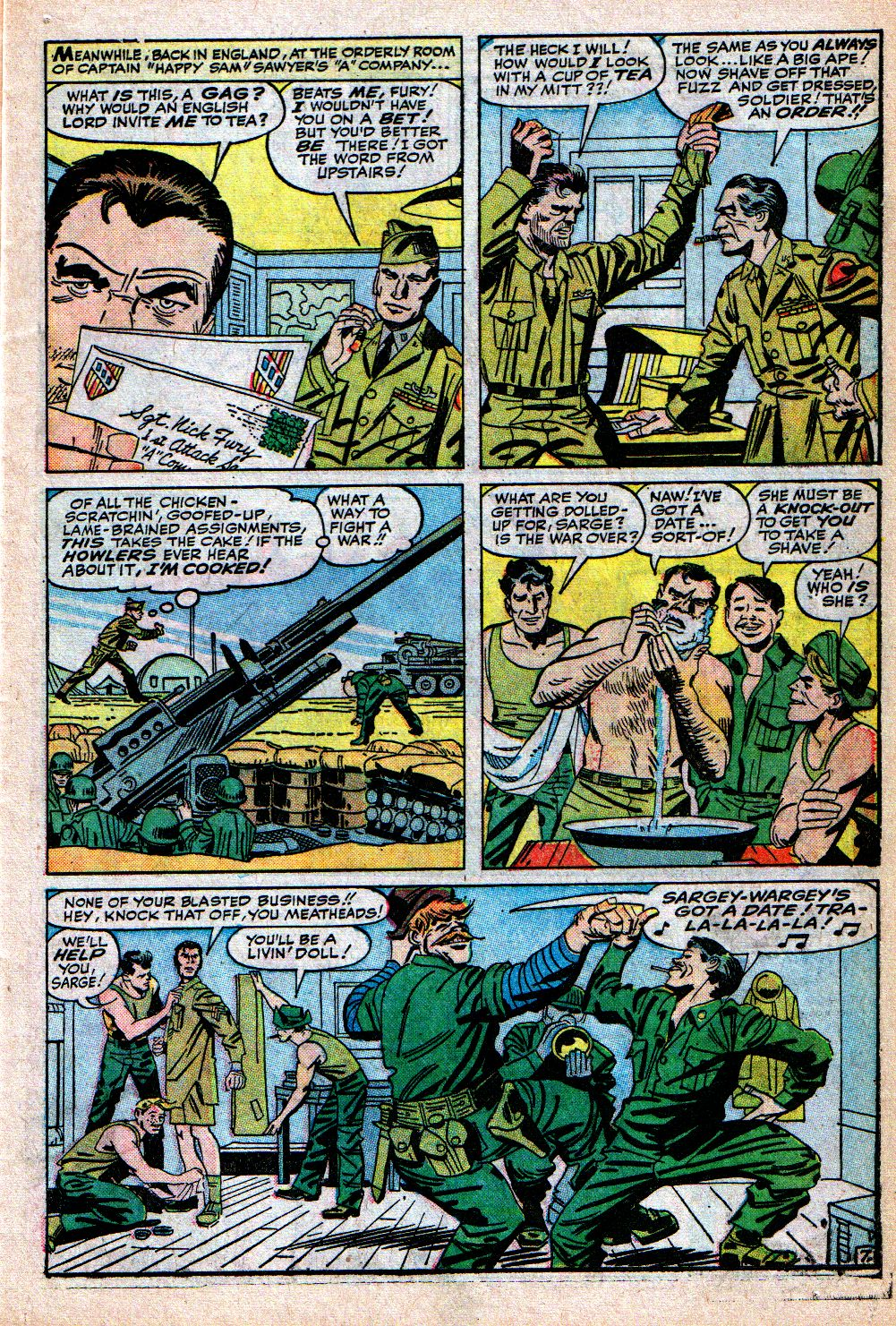 Read online Sgt. Fury comic -  Issue #4 - 11