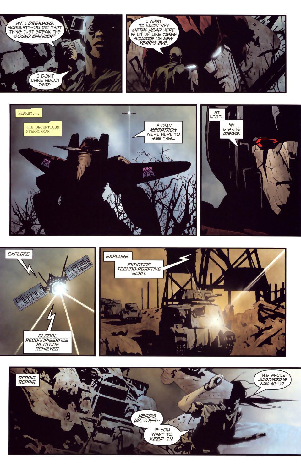 Read online Transformers/G.I. Joe comic -  Issue #2 - 4