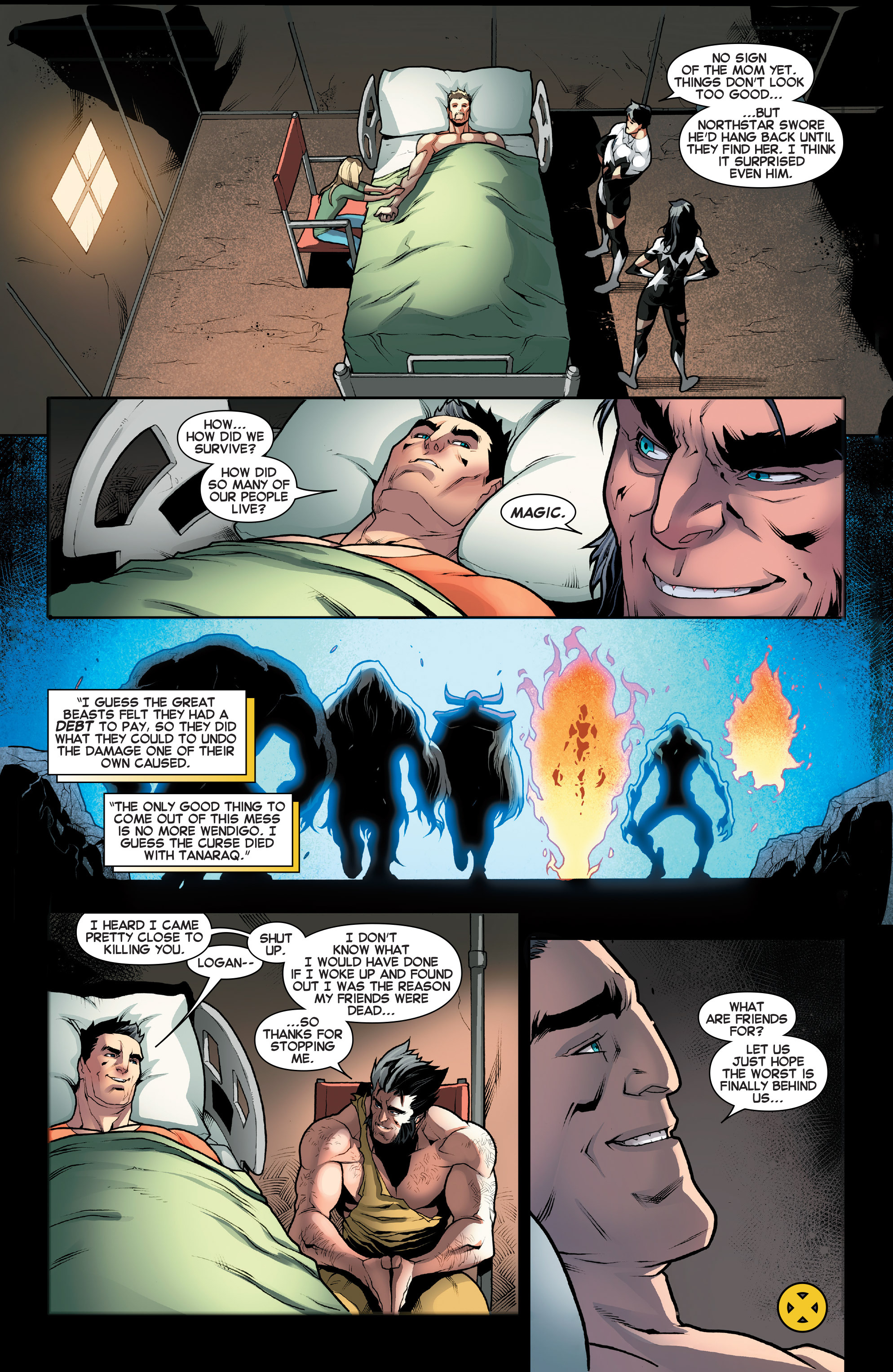 Read online Amazing X-Men (2014) comic -  Issue #12 - 21