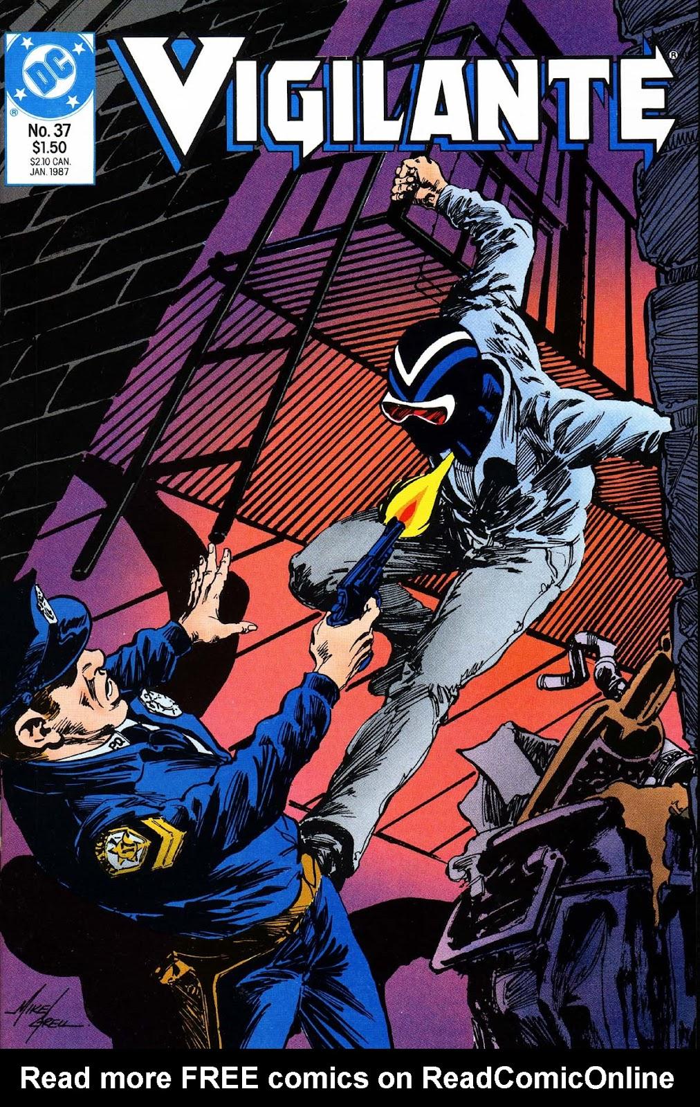 Vigilante (1983) issue 37 - Page 1