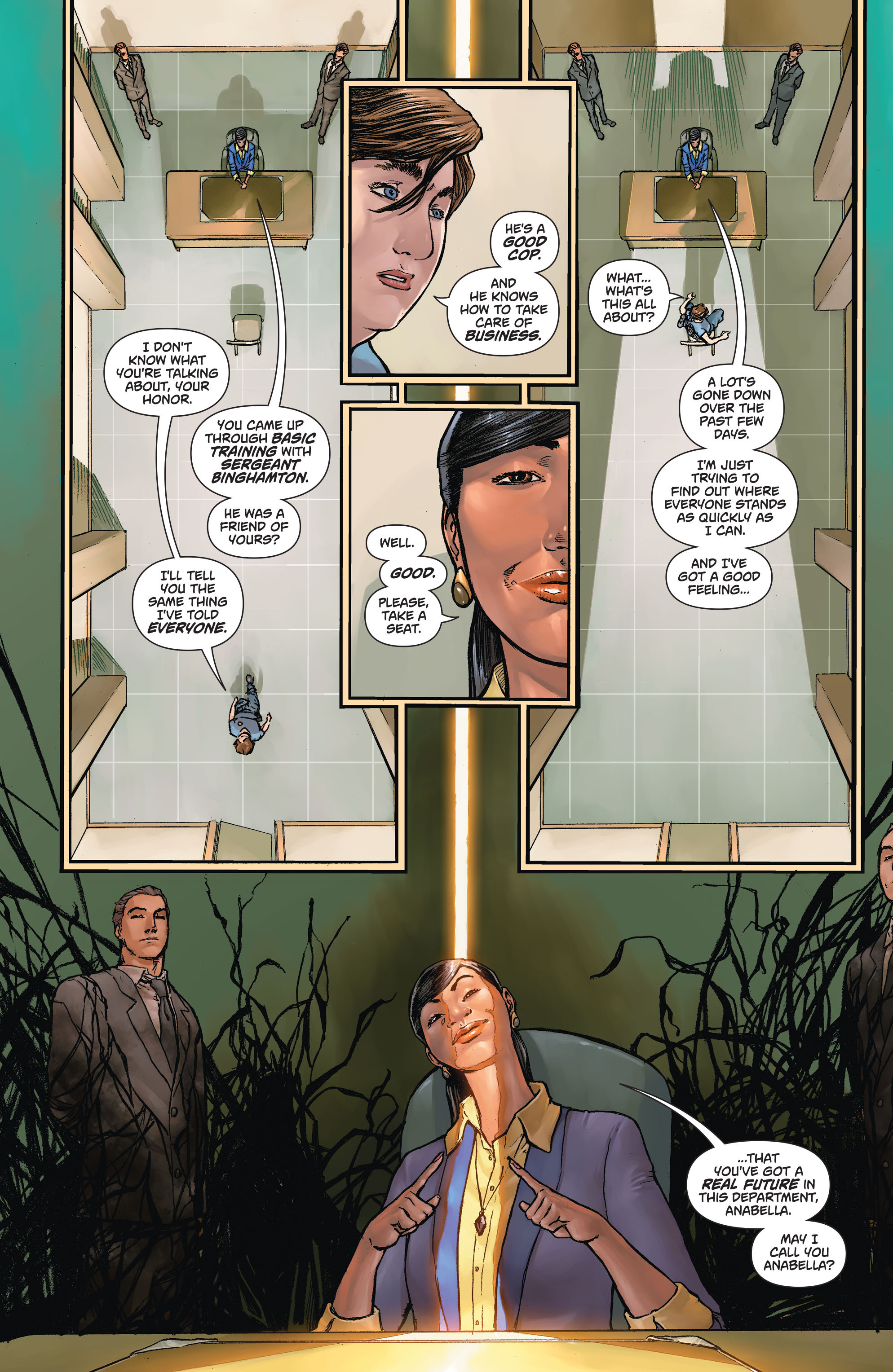 Read online Action Comics (2011) comic -  Issue #43 - 22