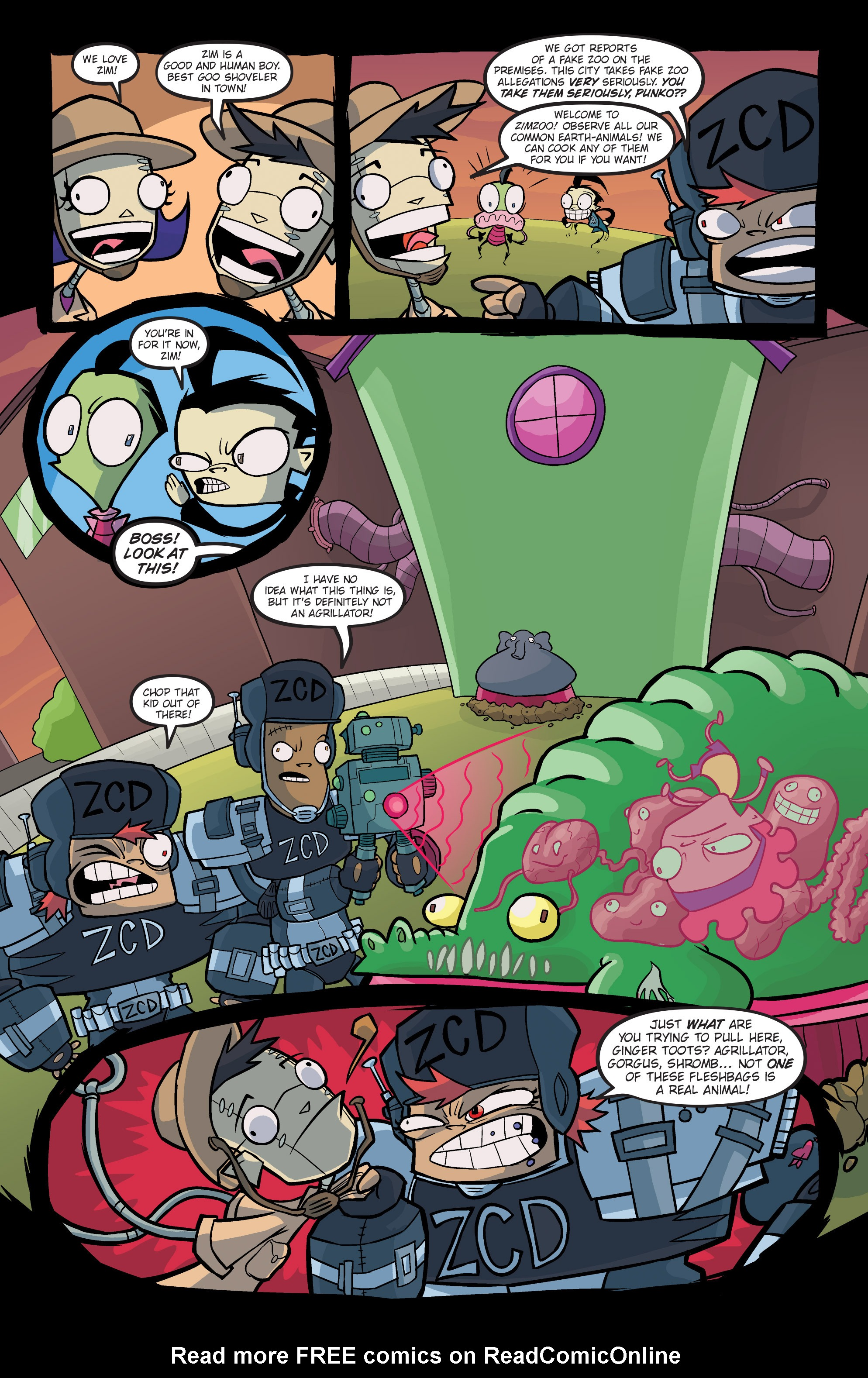 Read online Invader Zim comic -  Issue #19 - 14
