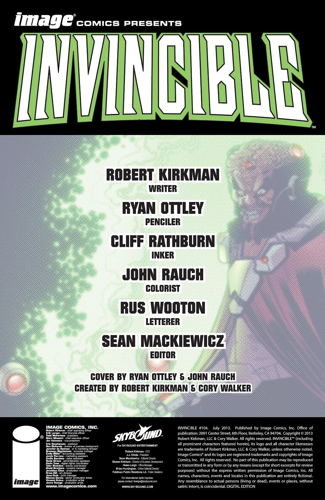 Invincible (2003) 104 Page 2