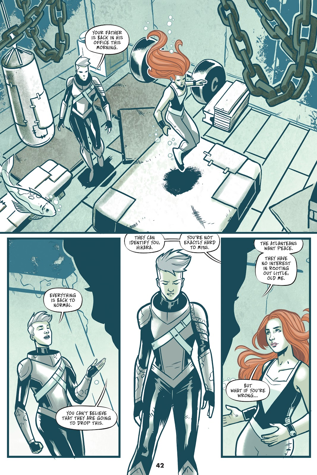 Read online Mera: Tidebreaker comic -  Issue # TPB (Part 1) - 42