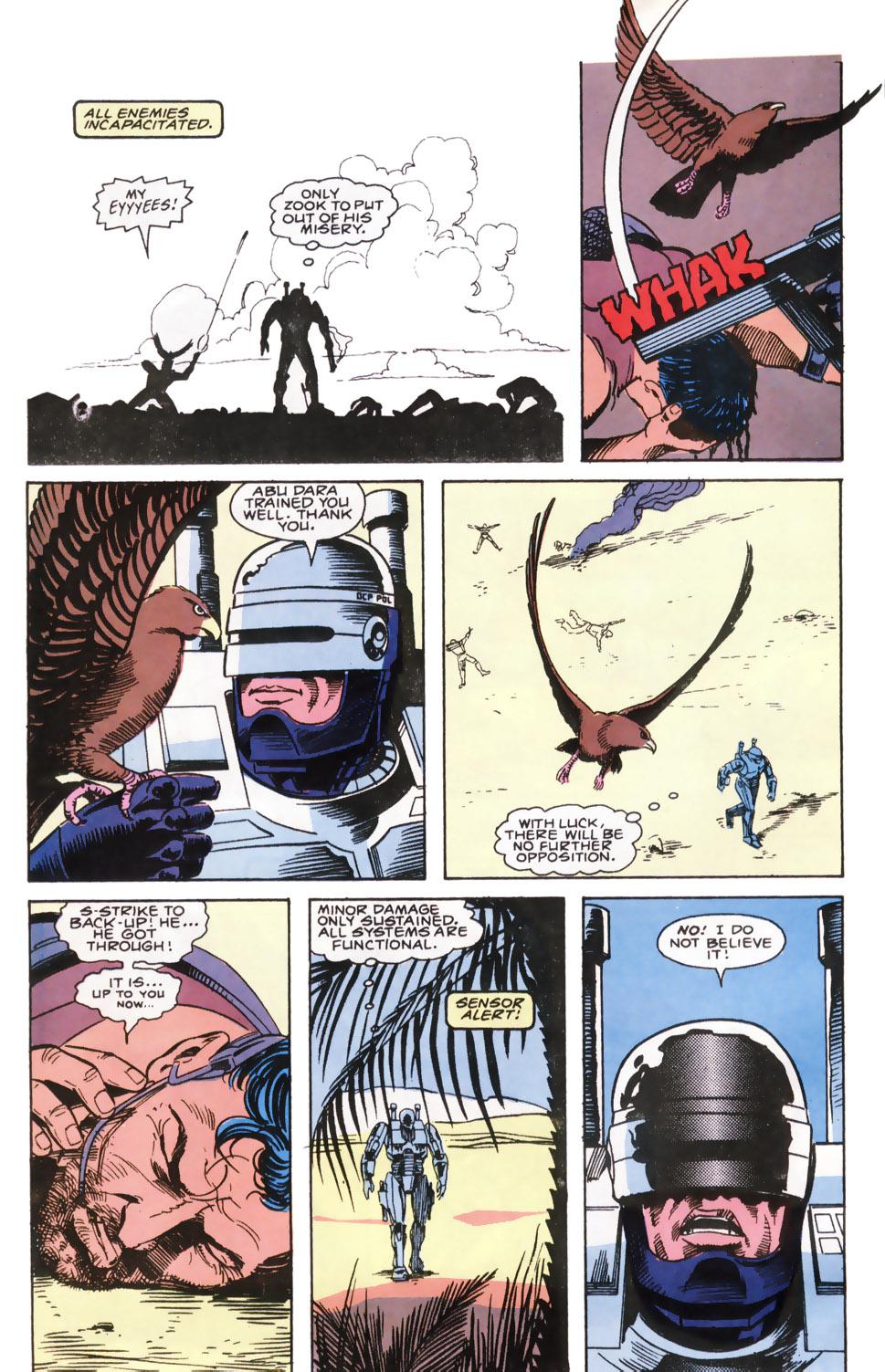 Read online Robocop (1990) comic -  Issue #6 - 16