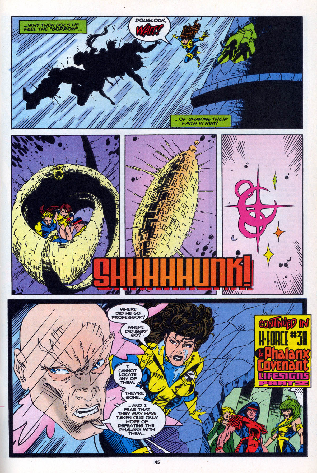 Read online X-Factor (1986) comic -  Issue #106 - 45