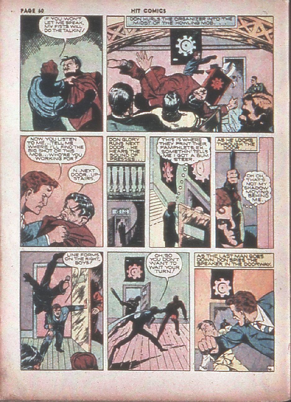 Read online Hit Comics comic -  Issue #8 - 62