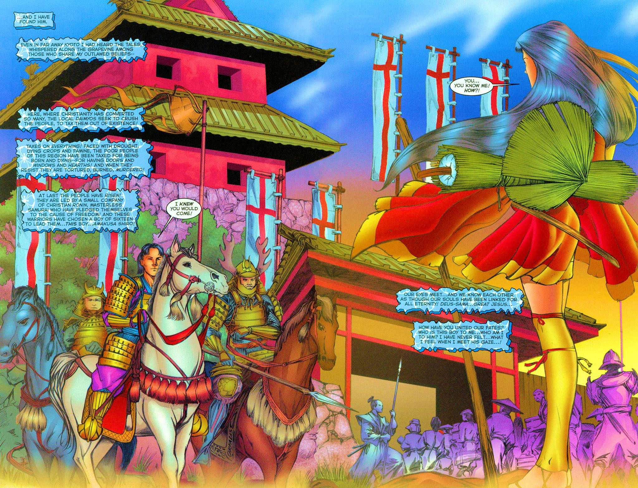 Read online Shi: Heaven And Earth comic -  Issue #2 - 4