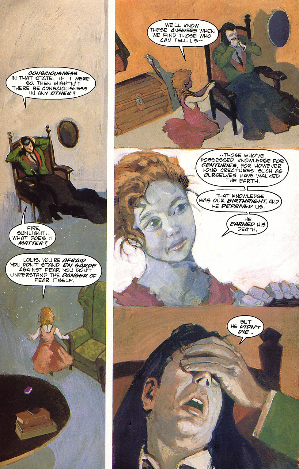 Read online Anne Rice's Interview with the Vampire comic -  Issue #6 - 17