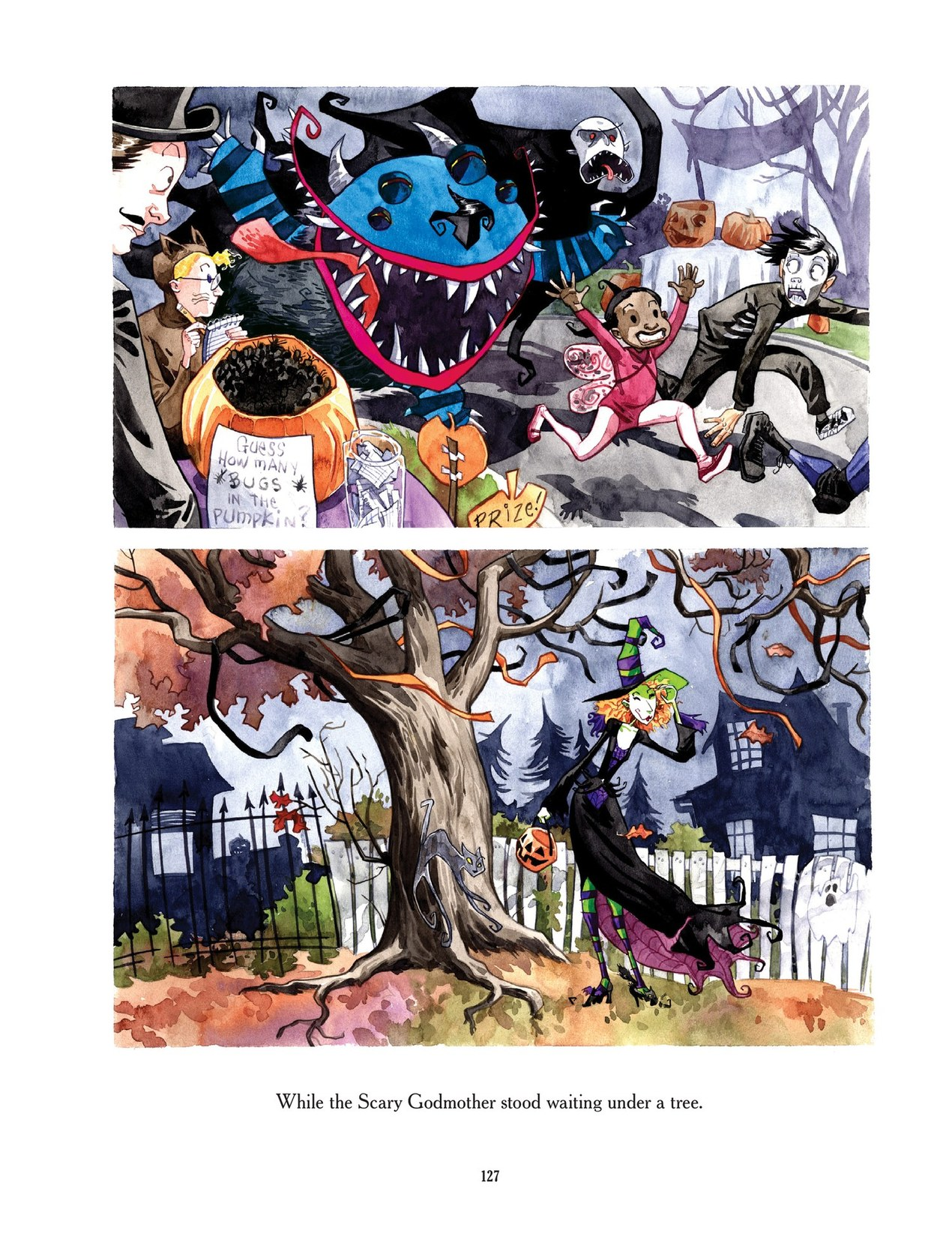 Read online Scary Godmother comic -  Issue # TPB - 127
