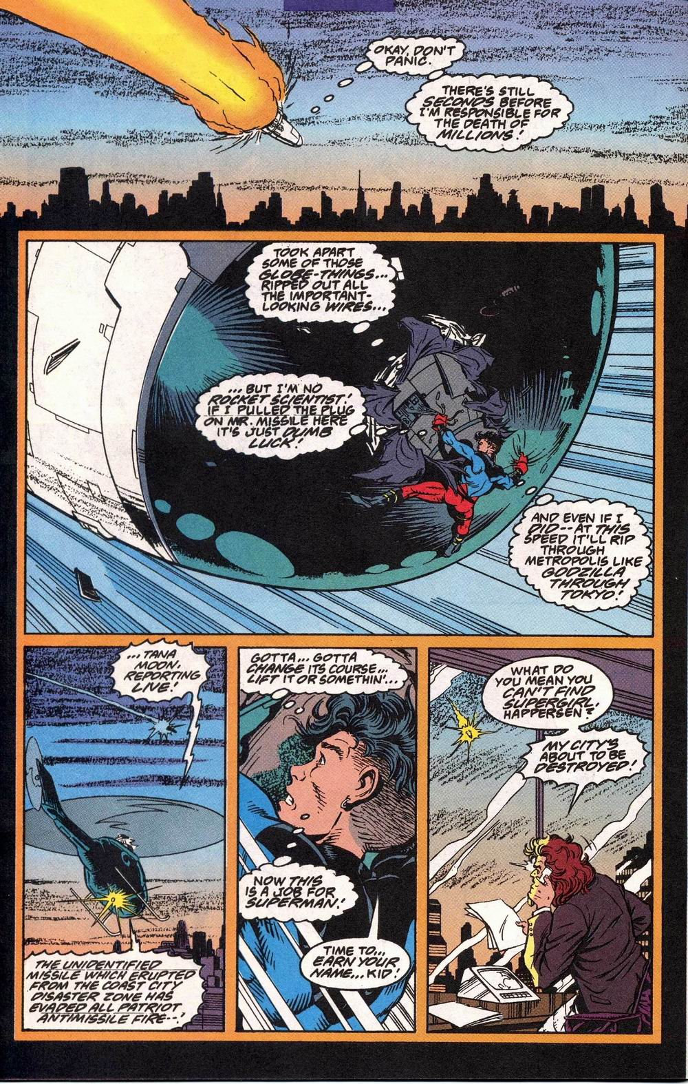 Read online Adventures of Superman (1987) comic -  Issue #504 - 19