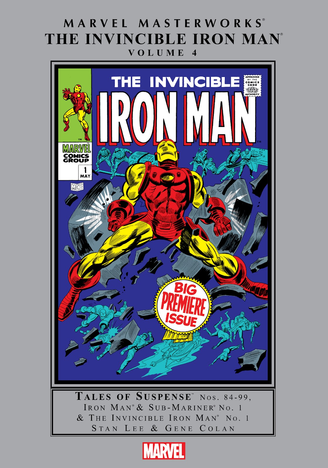 Read online Marvel Masterworks: The Invincible Iron Man comic -  Issue # TPB 4 (Part 1) - 1