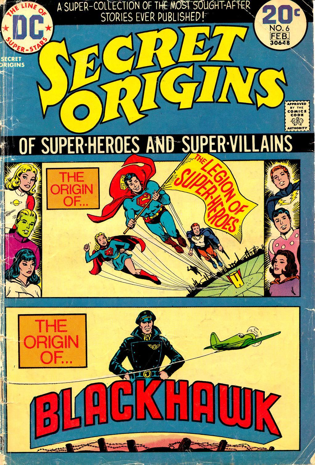 Read online Secret Origins (1973) comic -  Issue #6 - 1