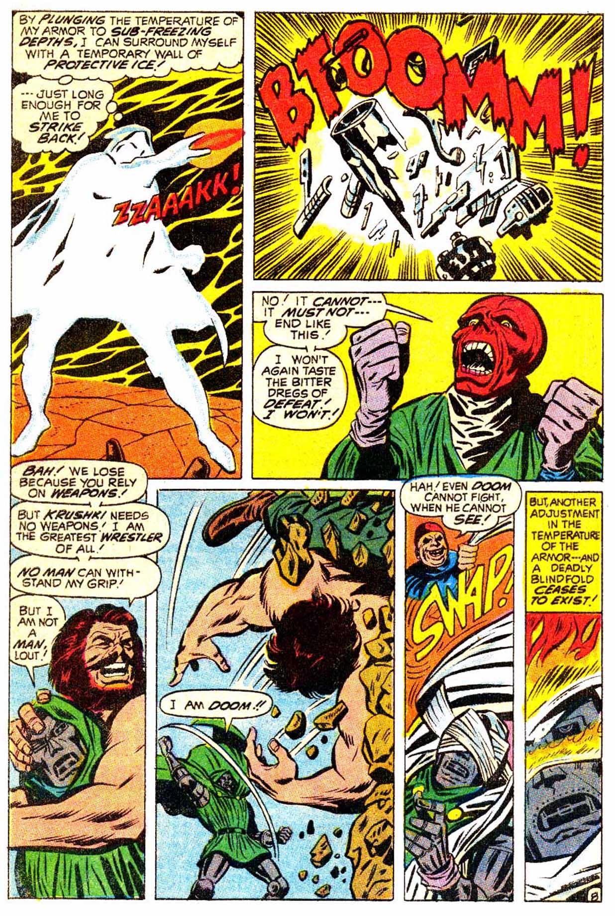 Read online Astonishing Tales (1970) comic -  Issue #5 - 9