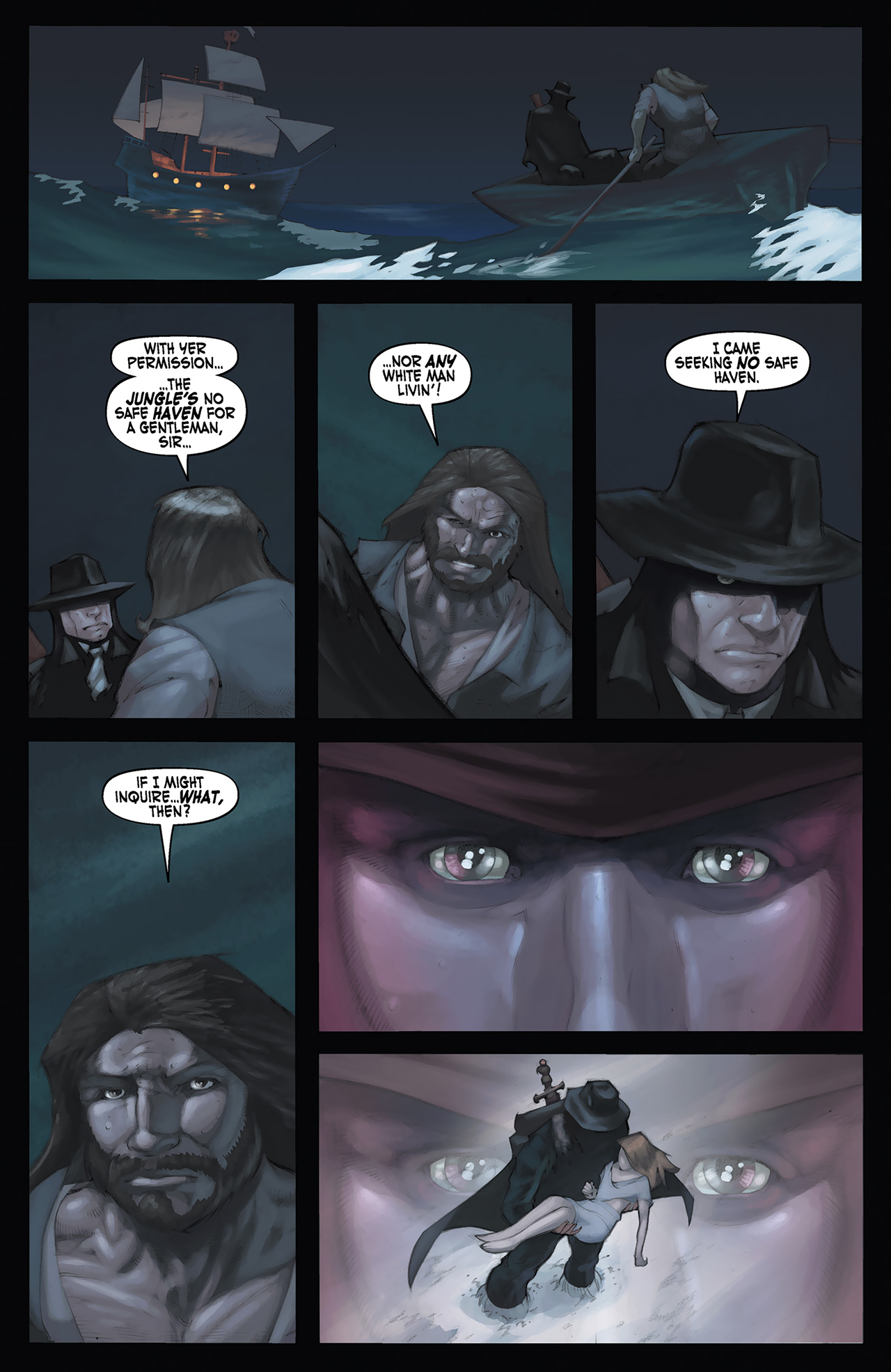 Read online Solomon Kane: Red Shadows comic -  Issue #3 - 5