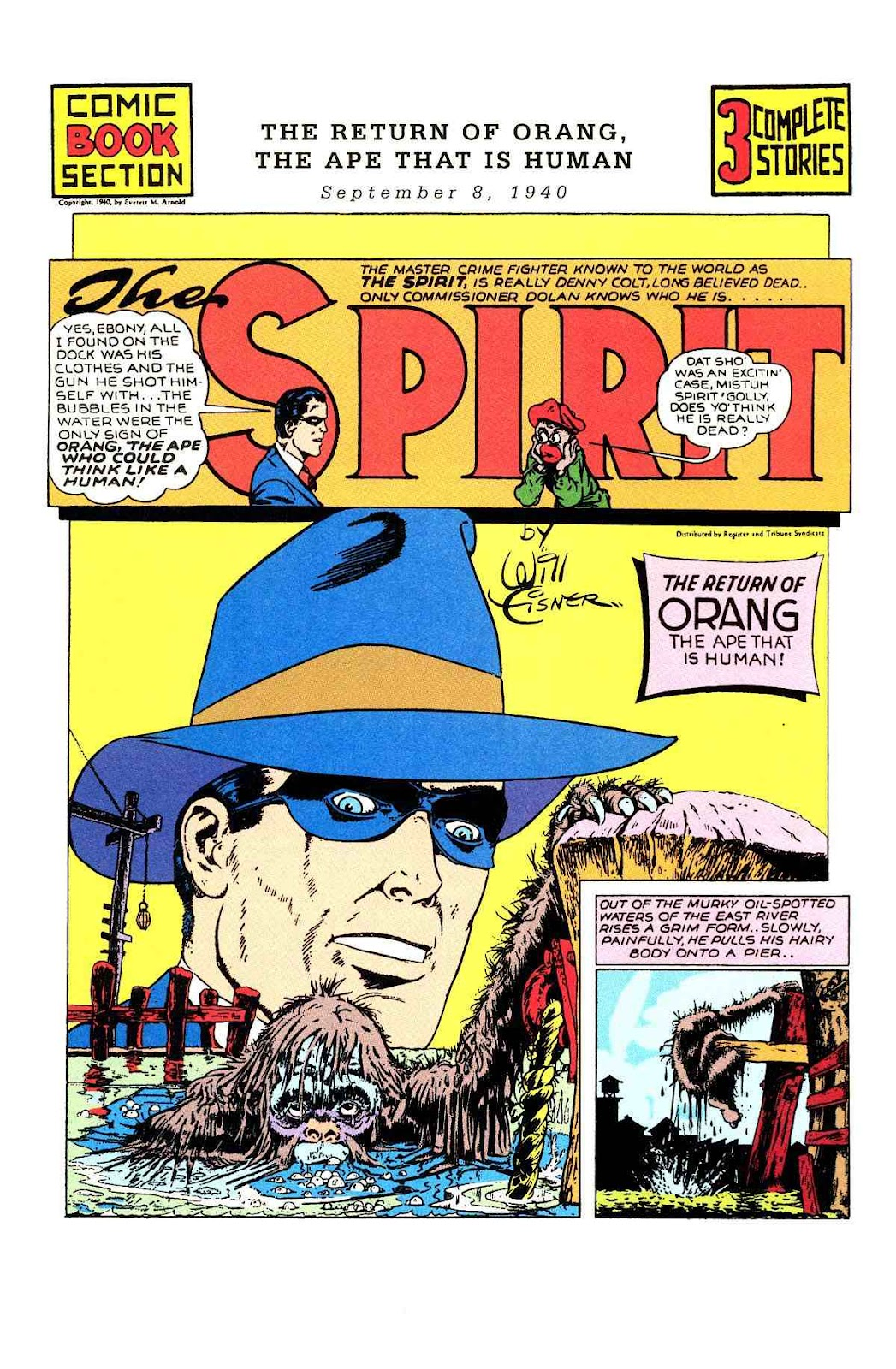 Read online Will Eisner's The Spirit Archives comic -  Issue # TPB 1 (Part 1) - 100