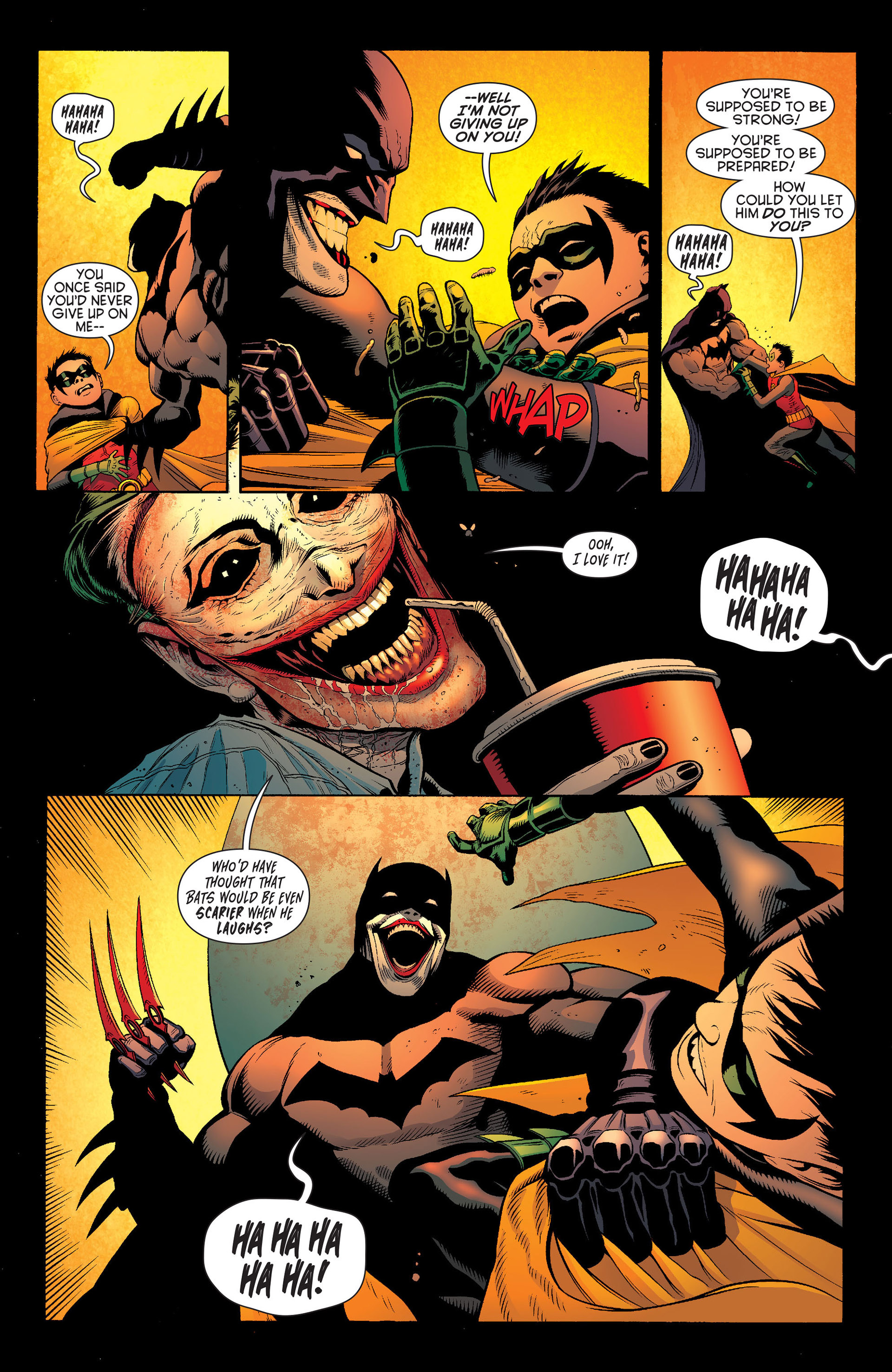 Read online Batman and Robin (2011) comic -  Issue #16 - 5