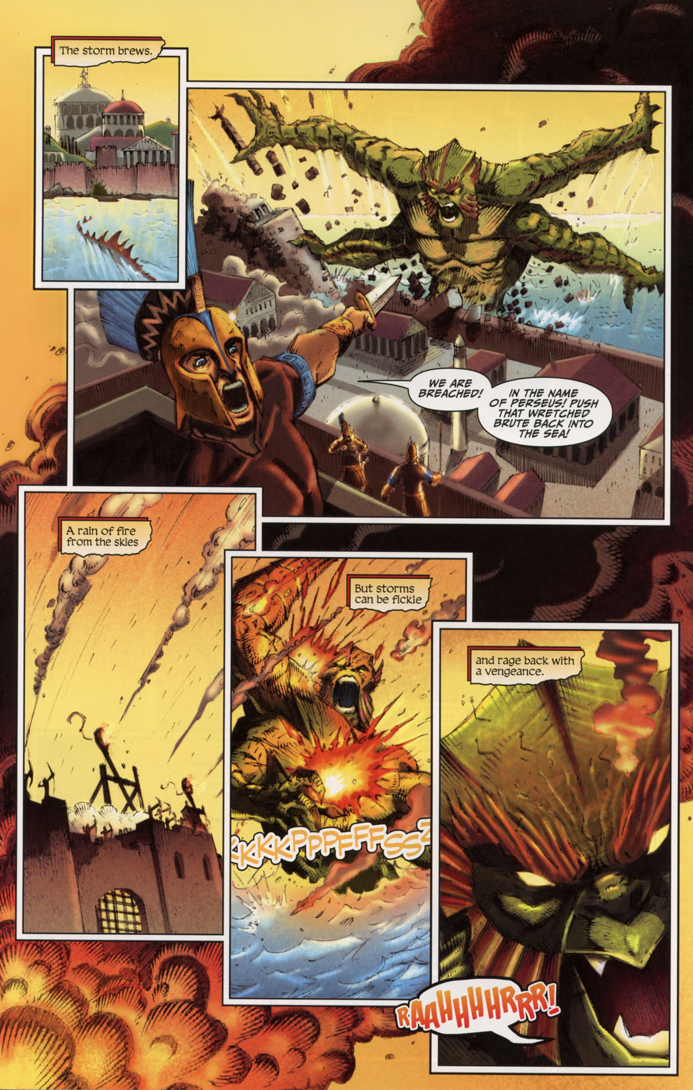 Read online Wrath of the Titans comic -  Issue #4 - 15