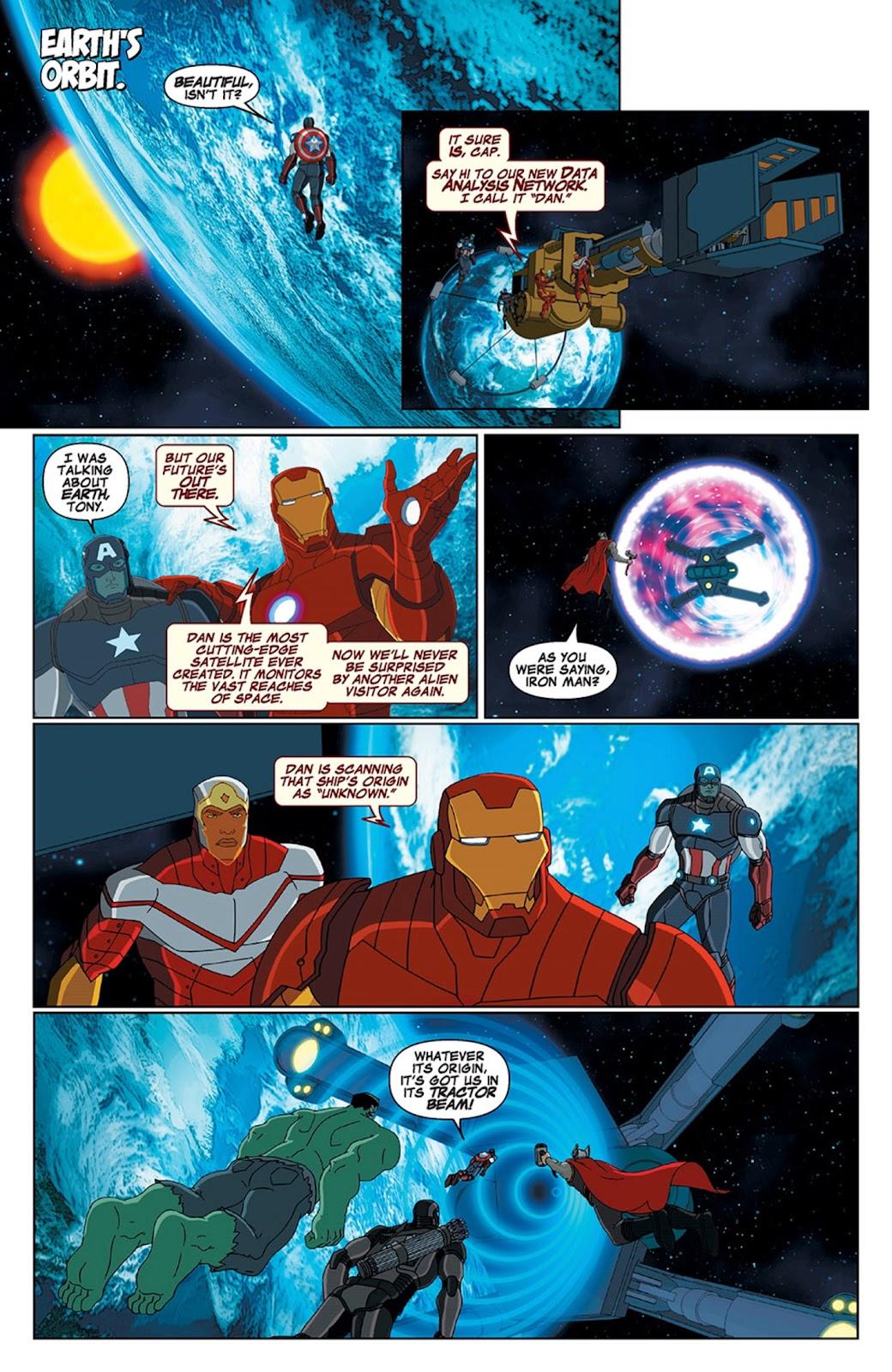 Read online Marvel Universe Avengers Assemble Season 2 comic -  Issue #15 - 4