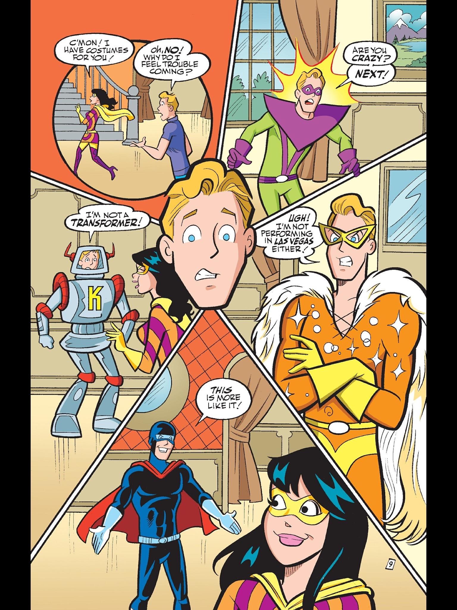 Read online Kevin Keller comic -  Issue #14 - 10